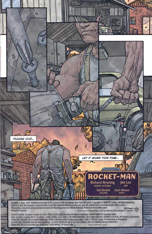 Read online Flinch comic -  Issue #1 - 2