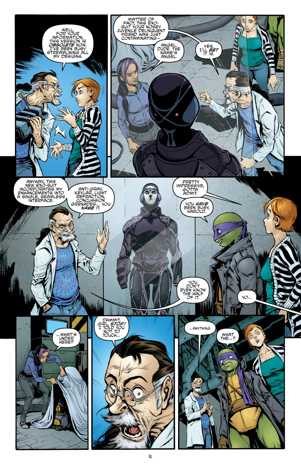 Read online Teenage Mutant Ninja Turtles: The IDW Collection comic -  Issue # TPB 4 (Part 3) - 40