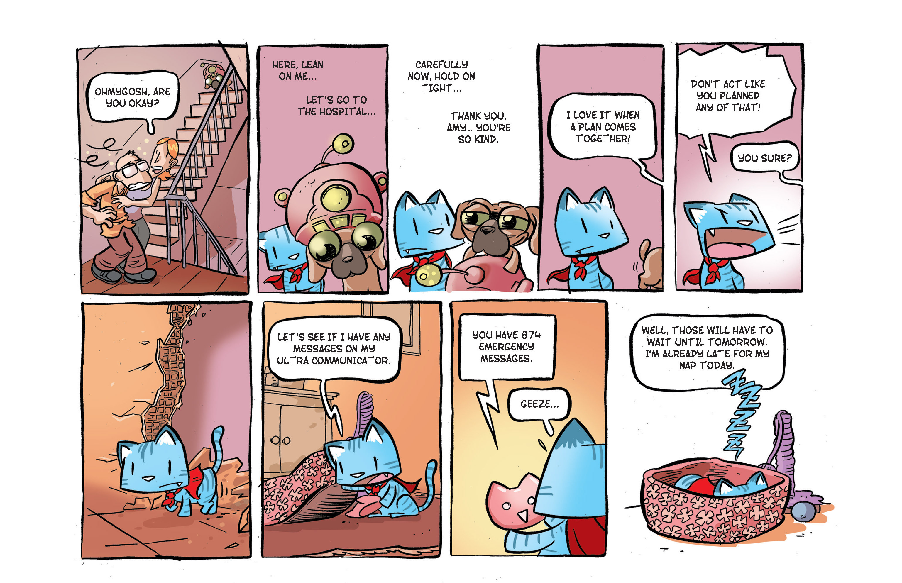 Read online Ultracat comic -  Issue #2 - 11