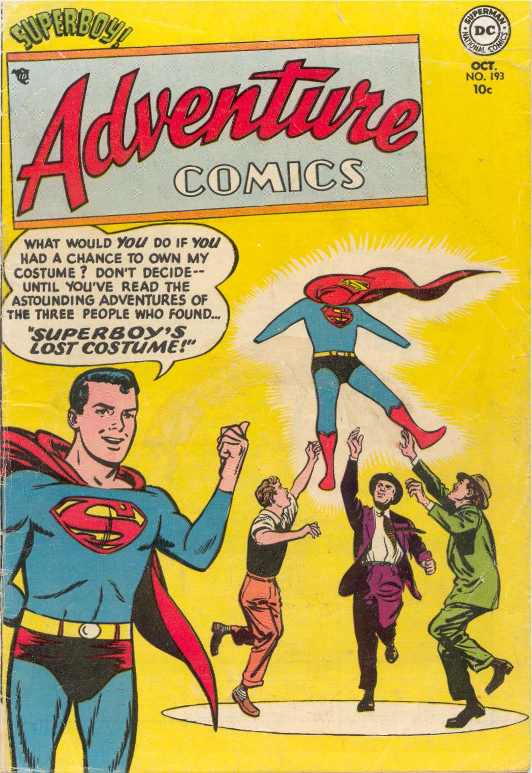 Read online Adventure Comics (1938) comic -  Issue #193 - 1
