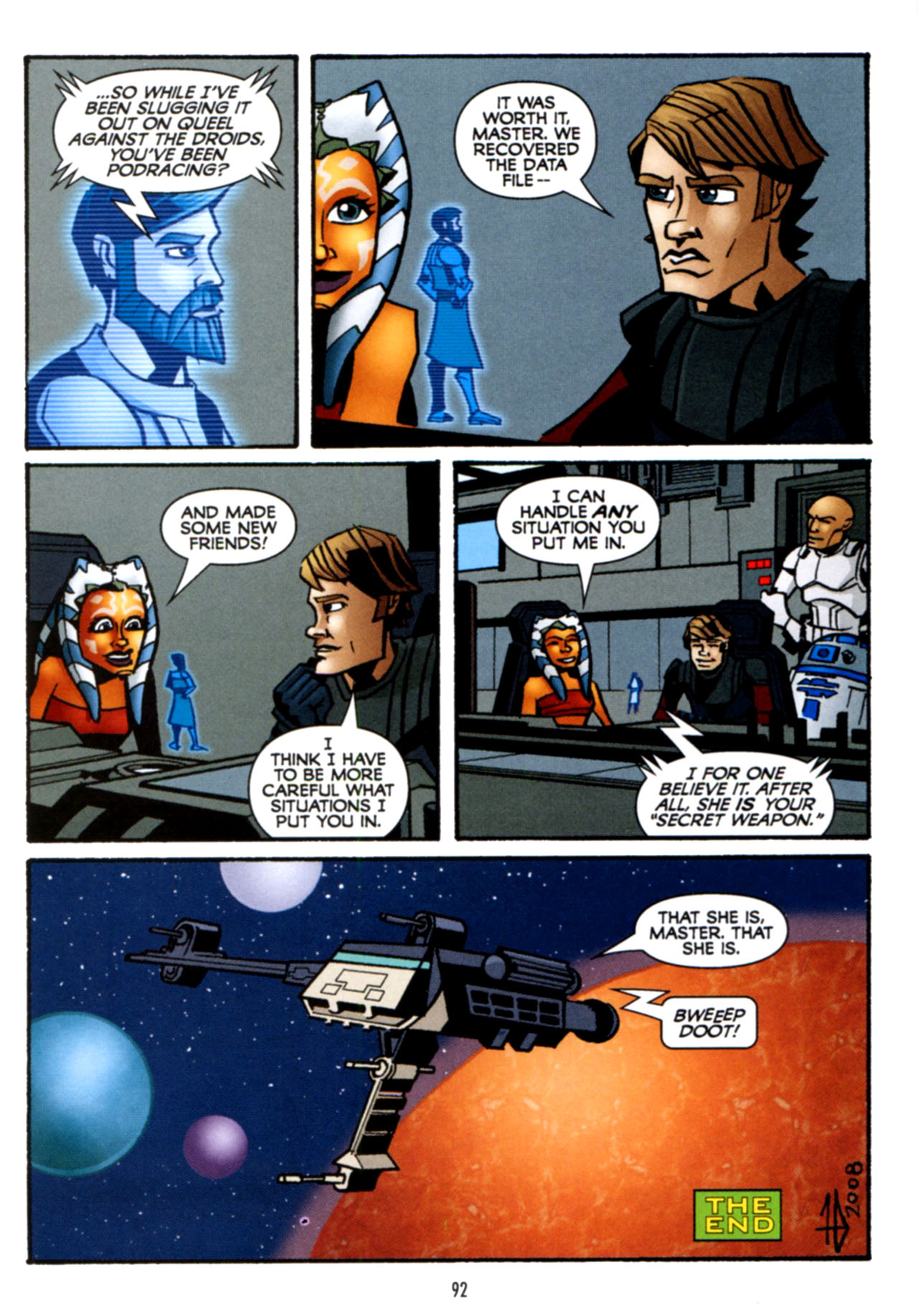 Read online Star Wars: The Clone Wars - Crash Course comic -  Issue # Full - 93