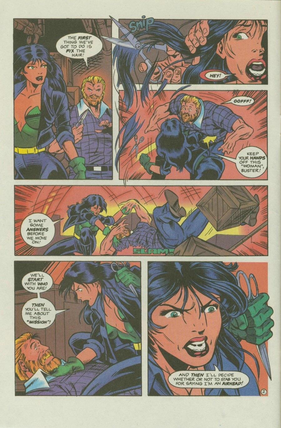 Read online Ex-Mutants comic -  Issue #8 - 4