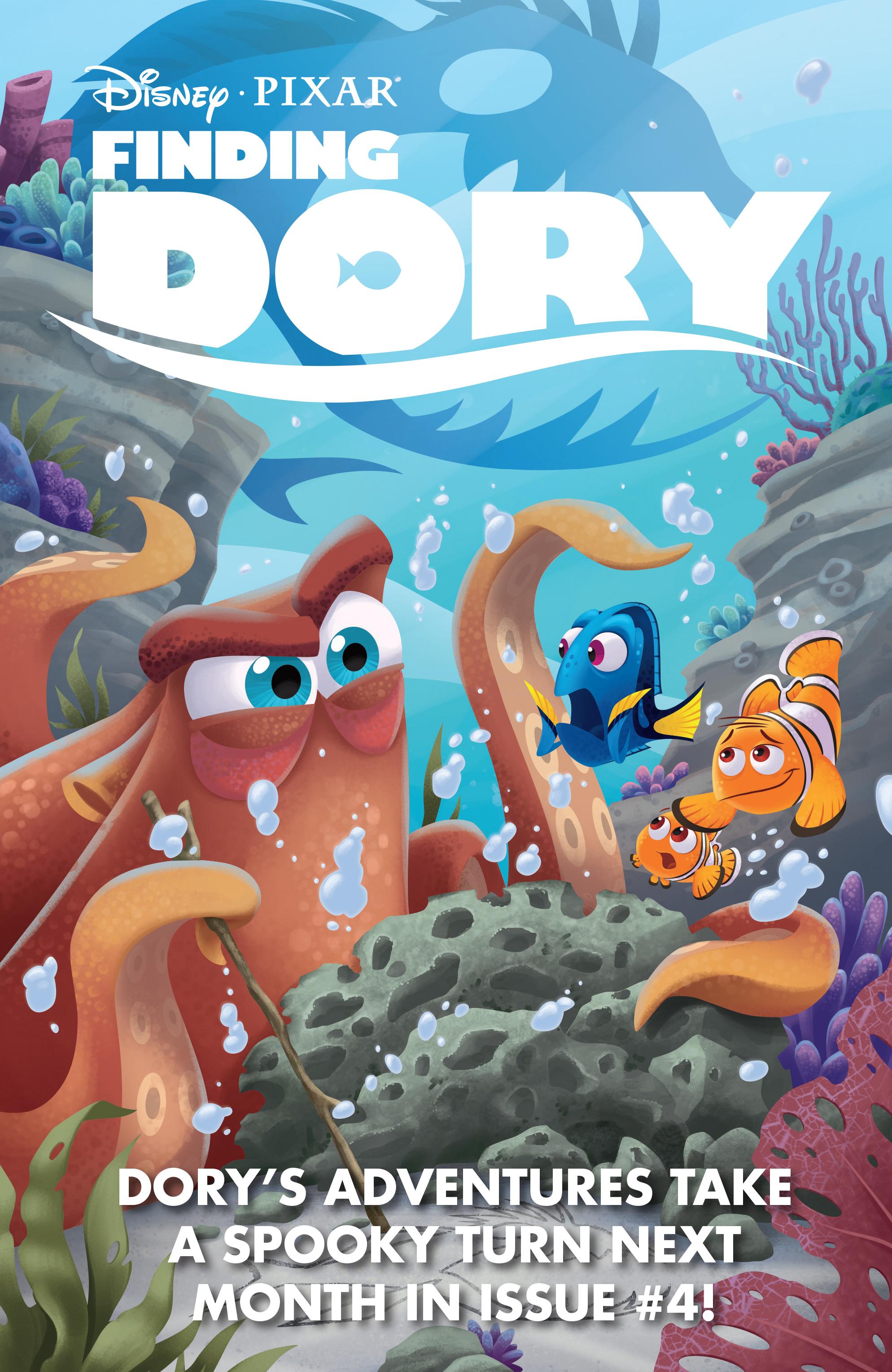 Read online Disney Pixar Finding Dory comic -  Issue #3 - 29