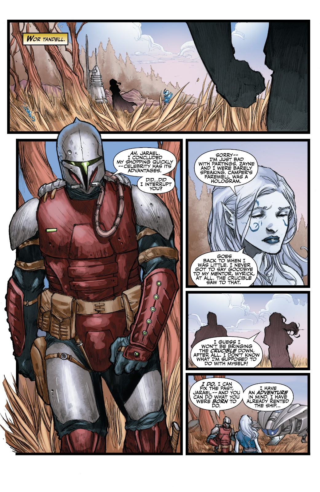 Read online Star Wars Legends: The Old Republic - Epic Collection comic -  Issue # TPB 3 (Part 3) - 26