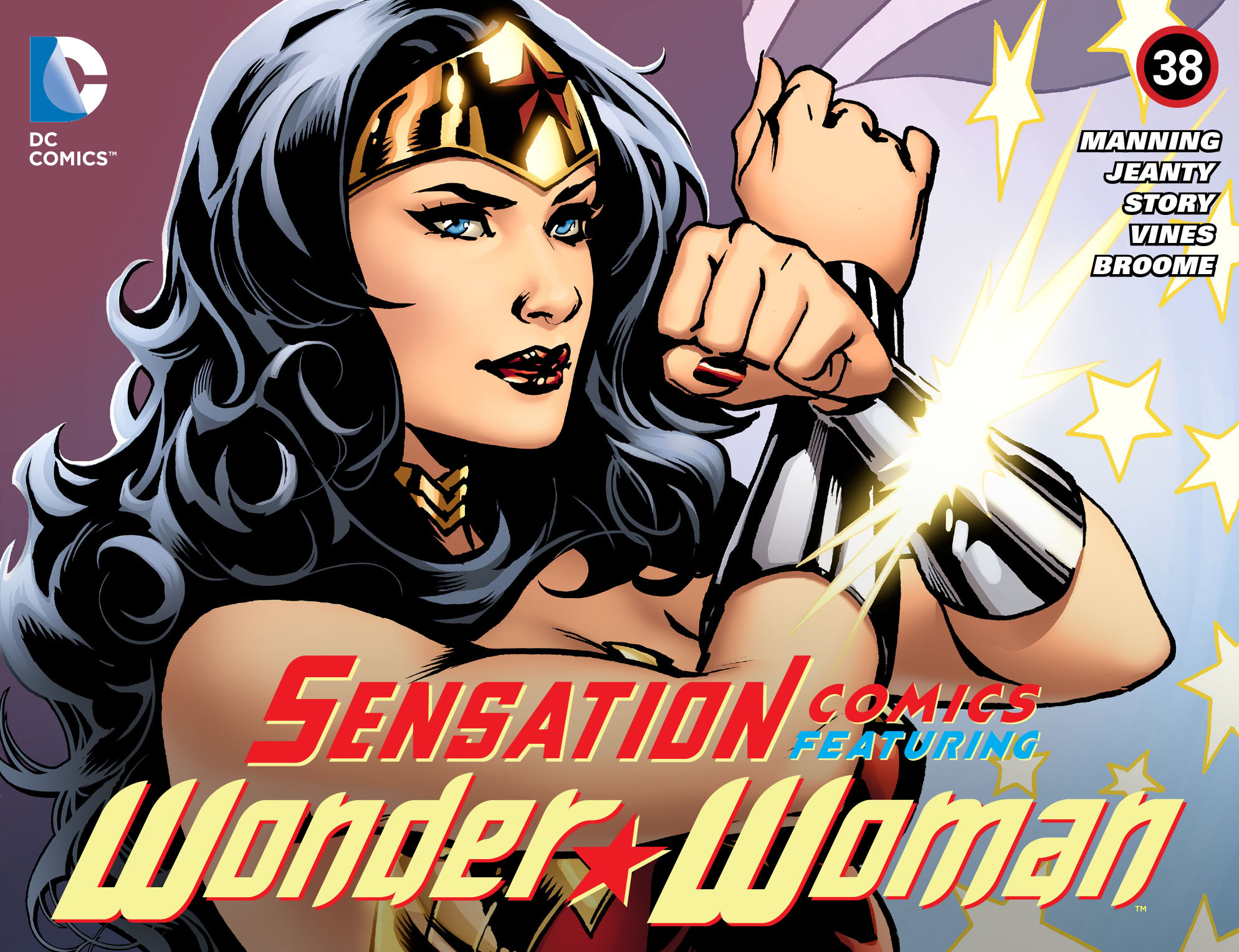 Read online Sensation Comics Featuring Wonder Woman comic -  Issue #38 - 1