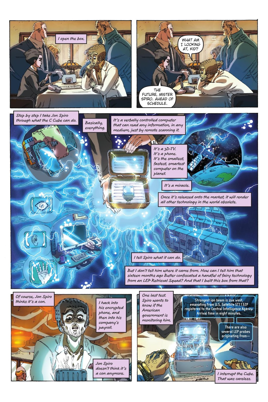 Artemis Fowl: The Eternity Code issue TPB - Page 11