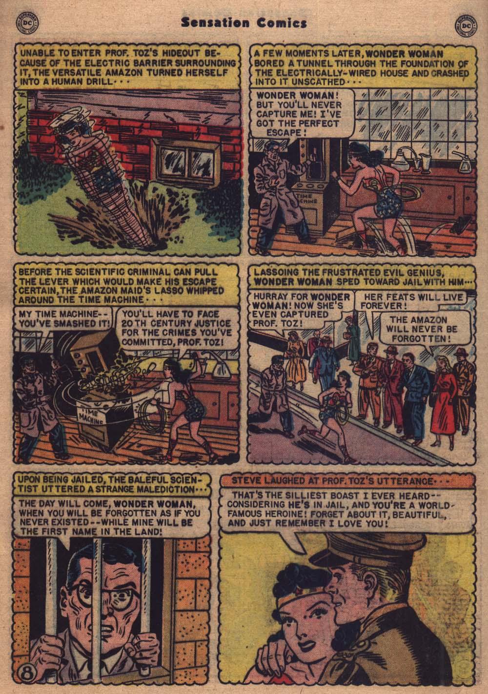 Read online Sensation (Mystery) Comics comic -  Issue #103 - 9