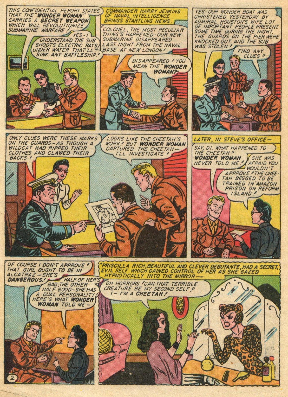 Read online Sensation (Mystery) Comics comic -  Issue #22 - 4