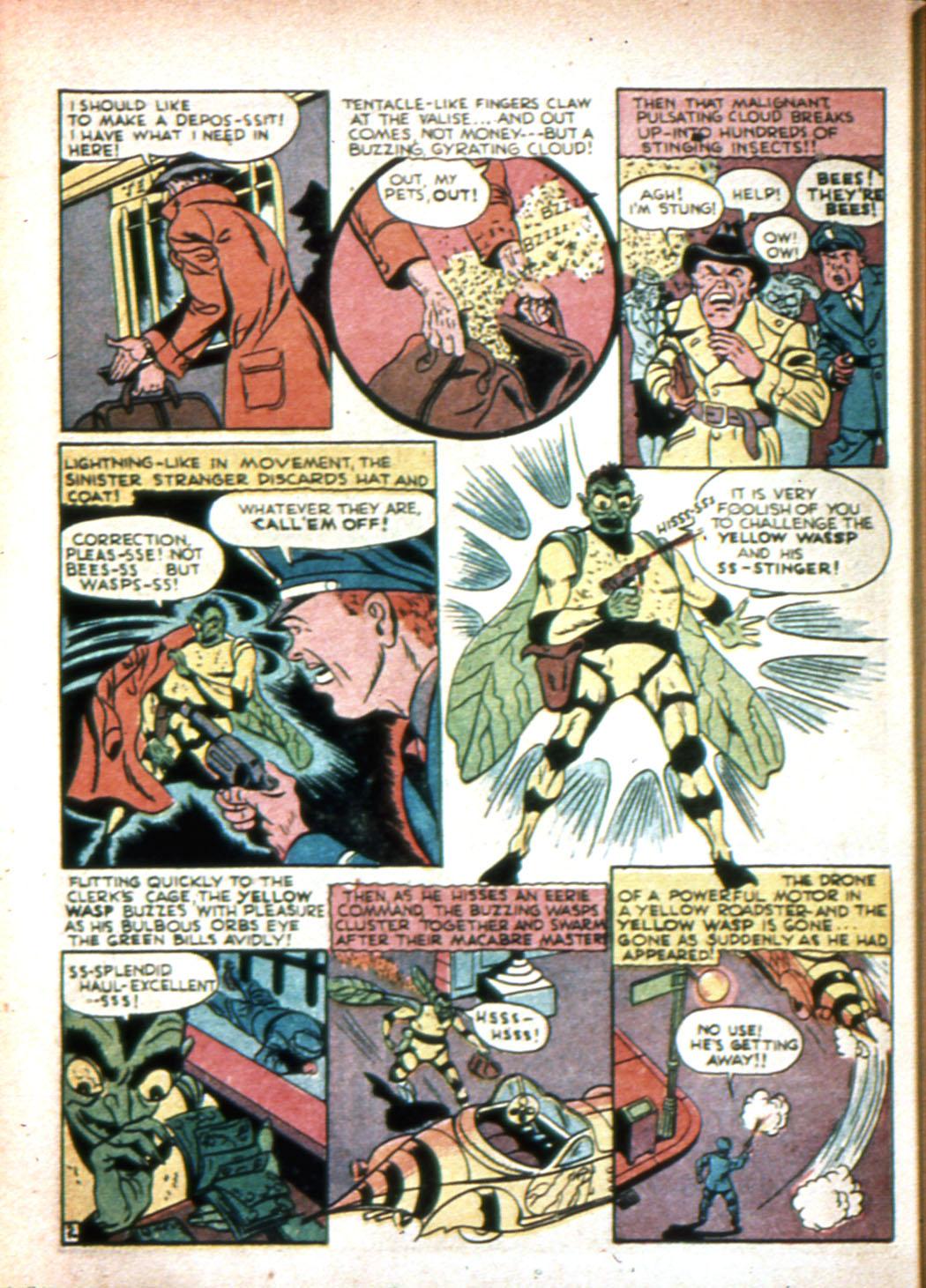 Read online Sensation (Mystery) Comics comic -  Issue #20 - 50