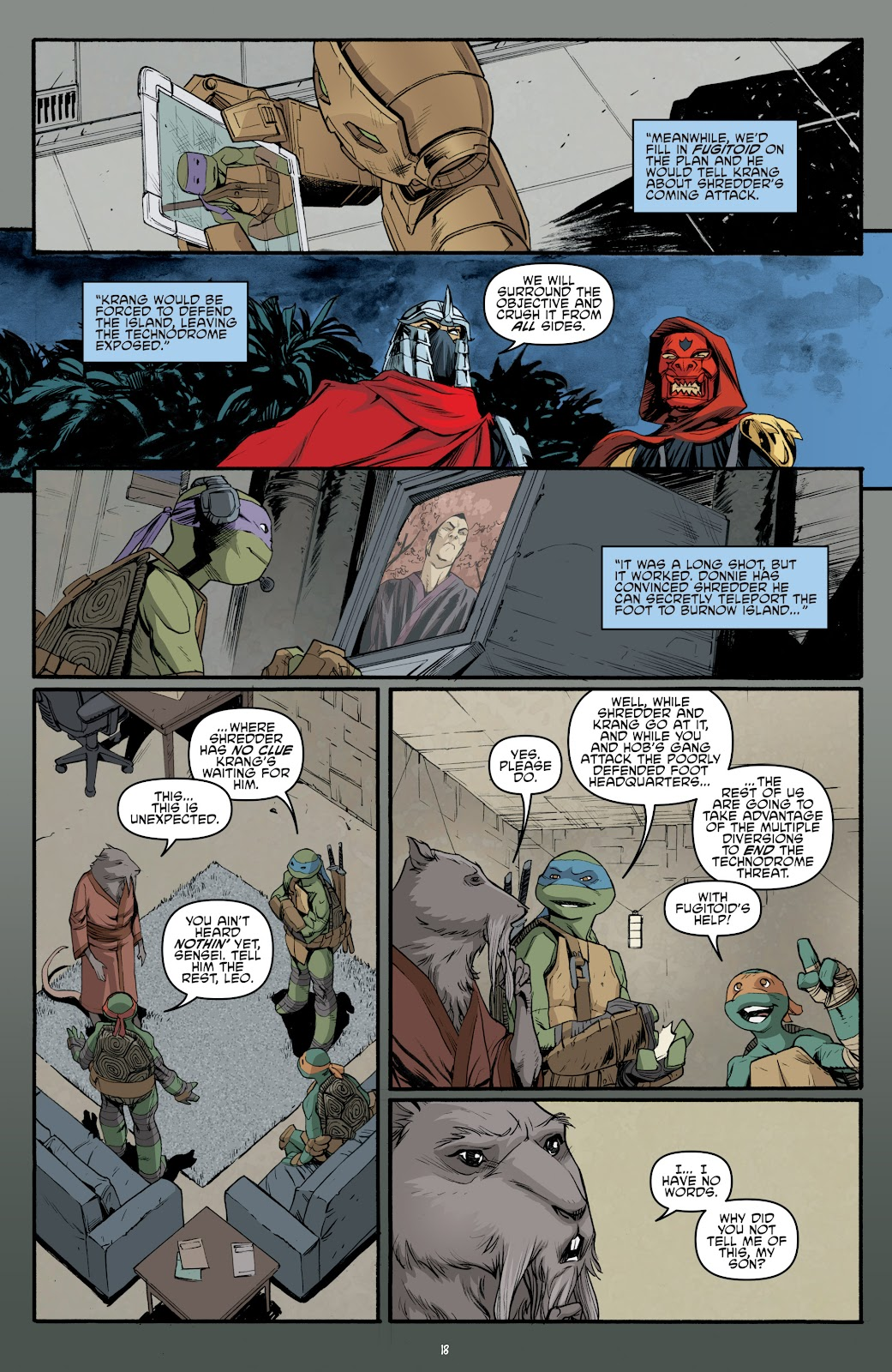 Read online Teenage Mutant Ninja Turtles: The IDW Collection comic -  Issue # TPB 5 (Part 4) - 4