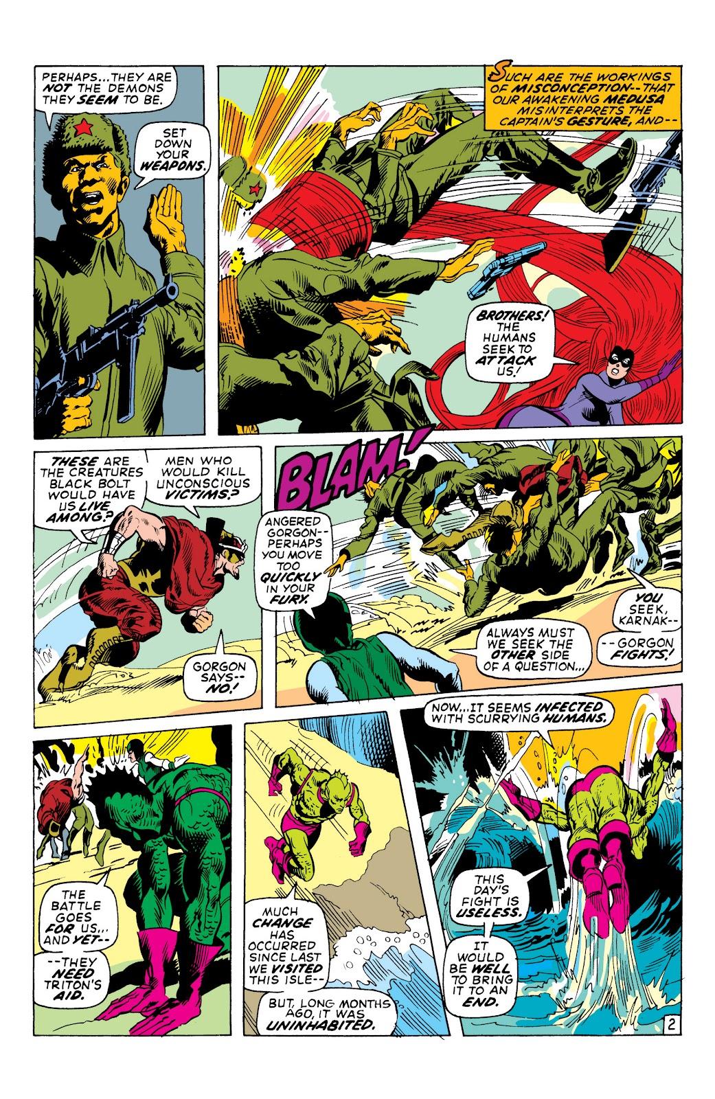 Read online Marvel Masterworks: The Inhumans comic -  Issue # TPB 1 (Part 2) - 37