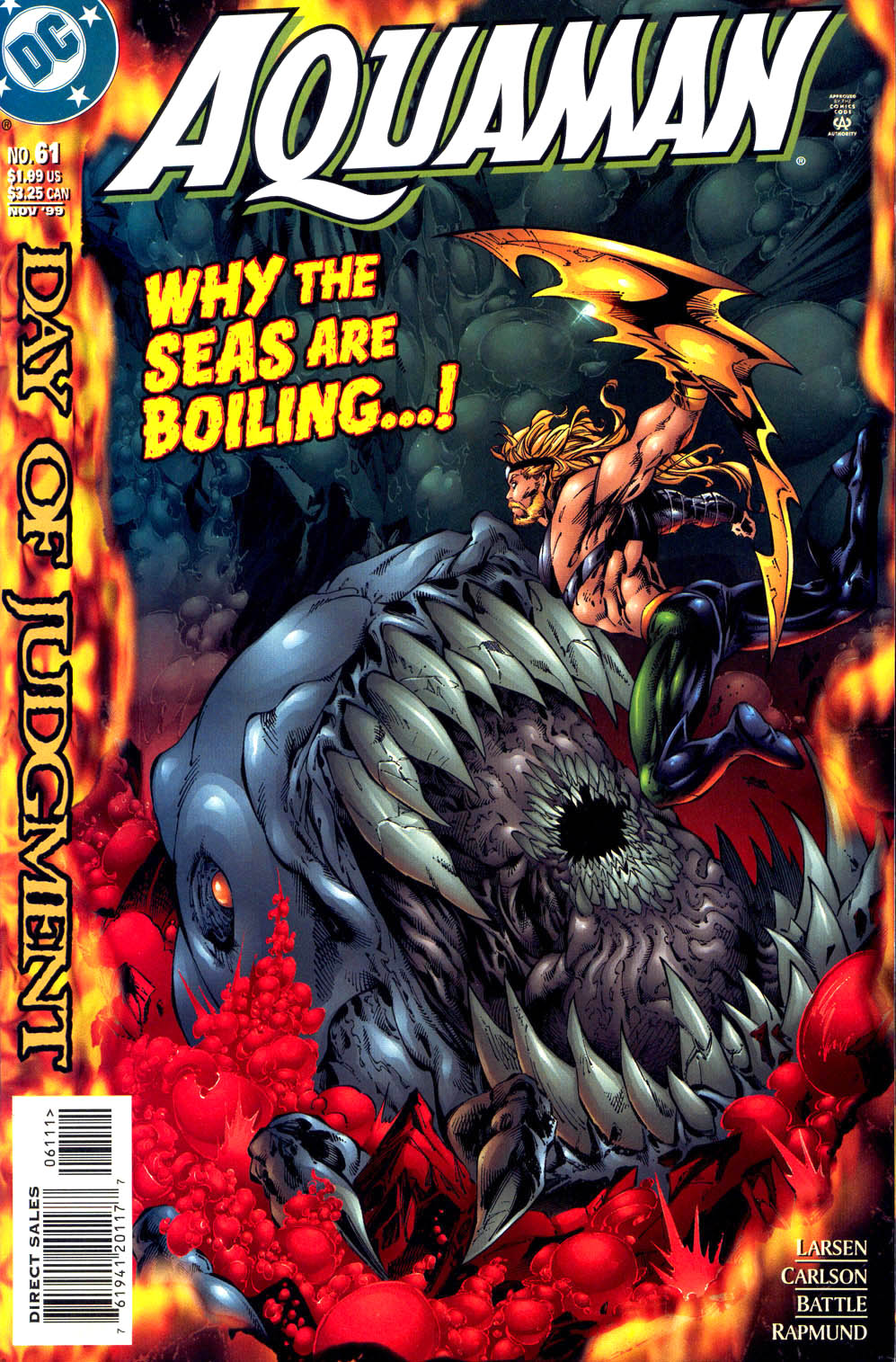 Read online Aquaman (1994) comic -  Issue #61 - 1
