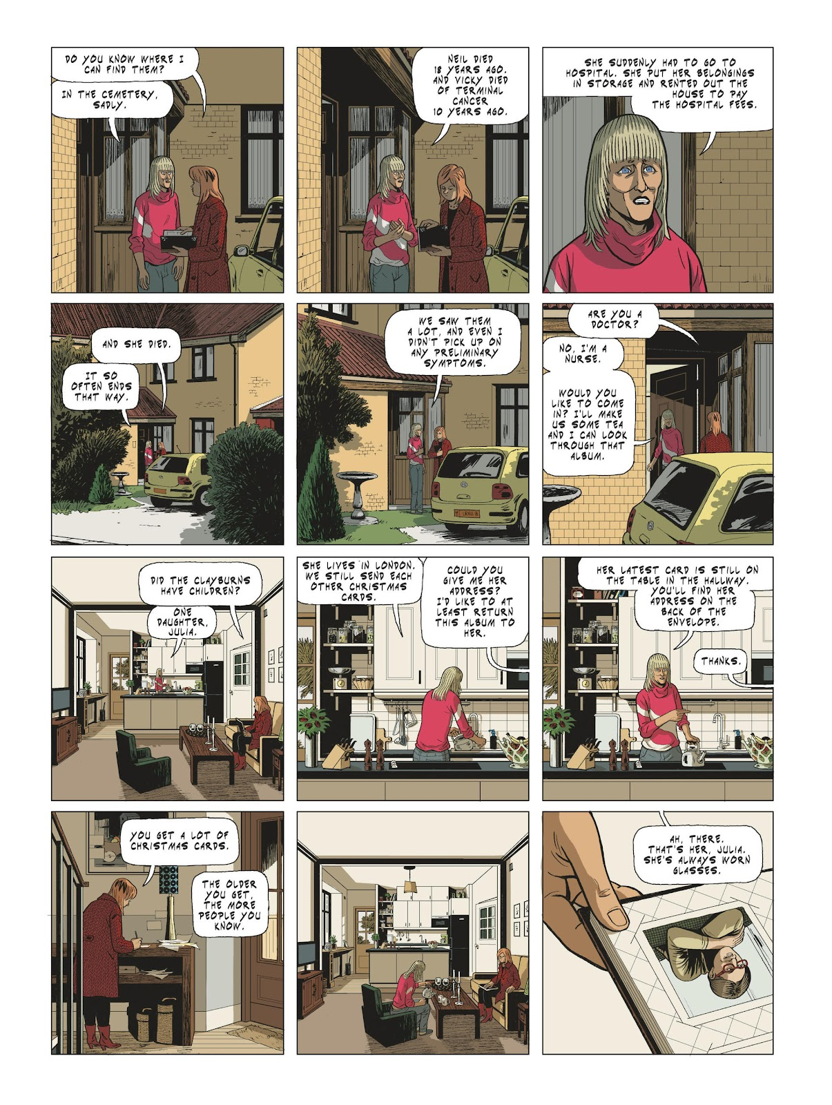 Read online Maggy Garrisson comic -  Issue #3 - 44
