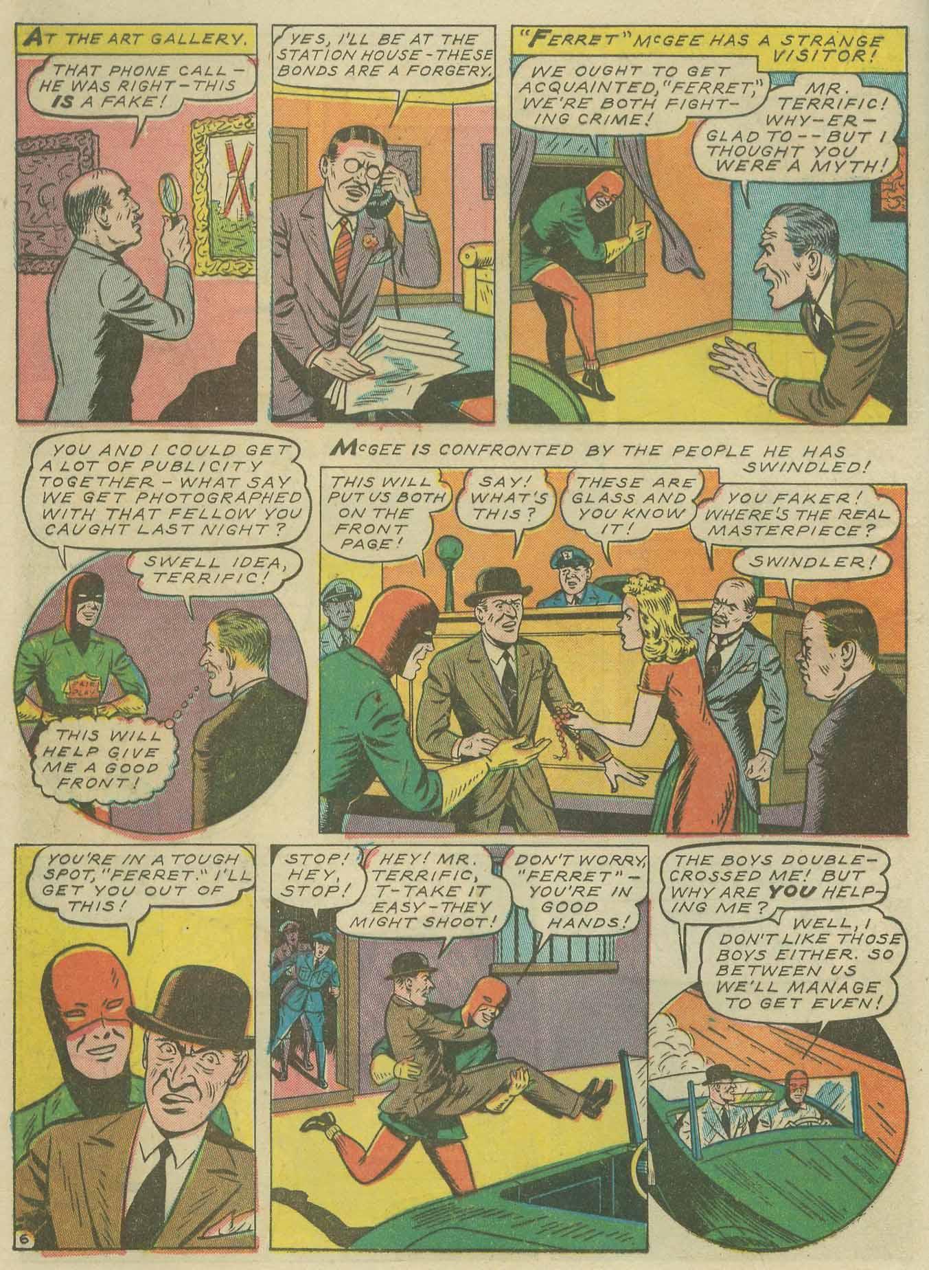 Read online Sensation (Mystery) Comics comic -  Issue #9 - 30