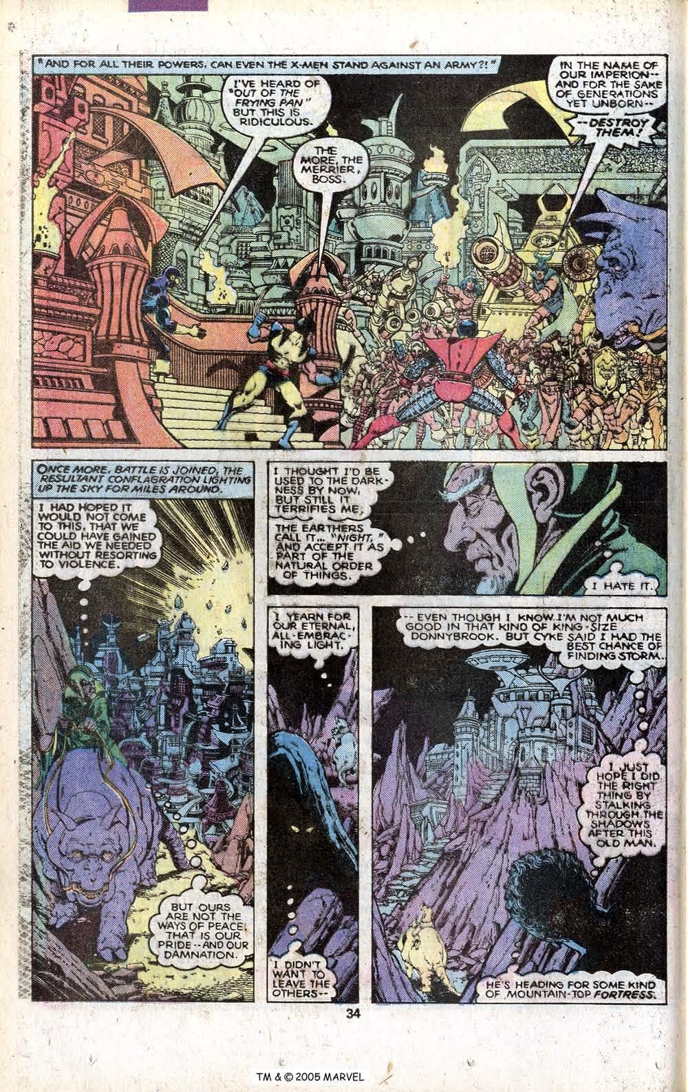 Read online Uncanny X-Men (1963) comic -  Issue # _Annual 3 - 36