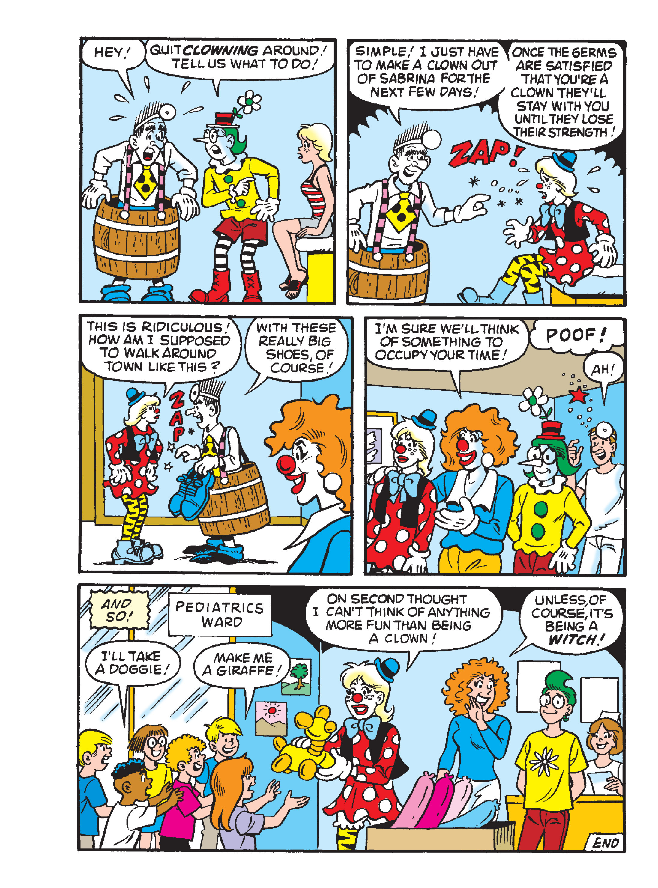Read online Archie 1000 Page Comics Blowout! comic -  Issue # TPB (Part 1) - 147