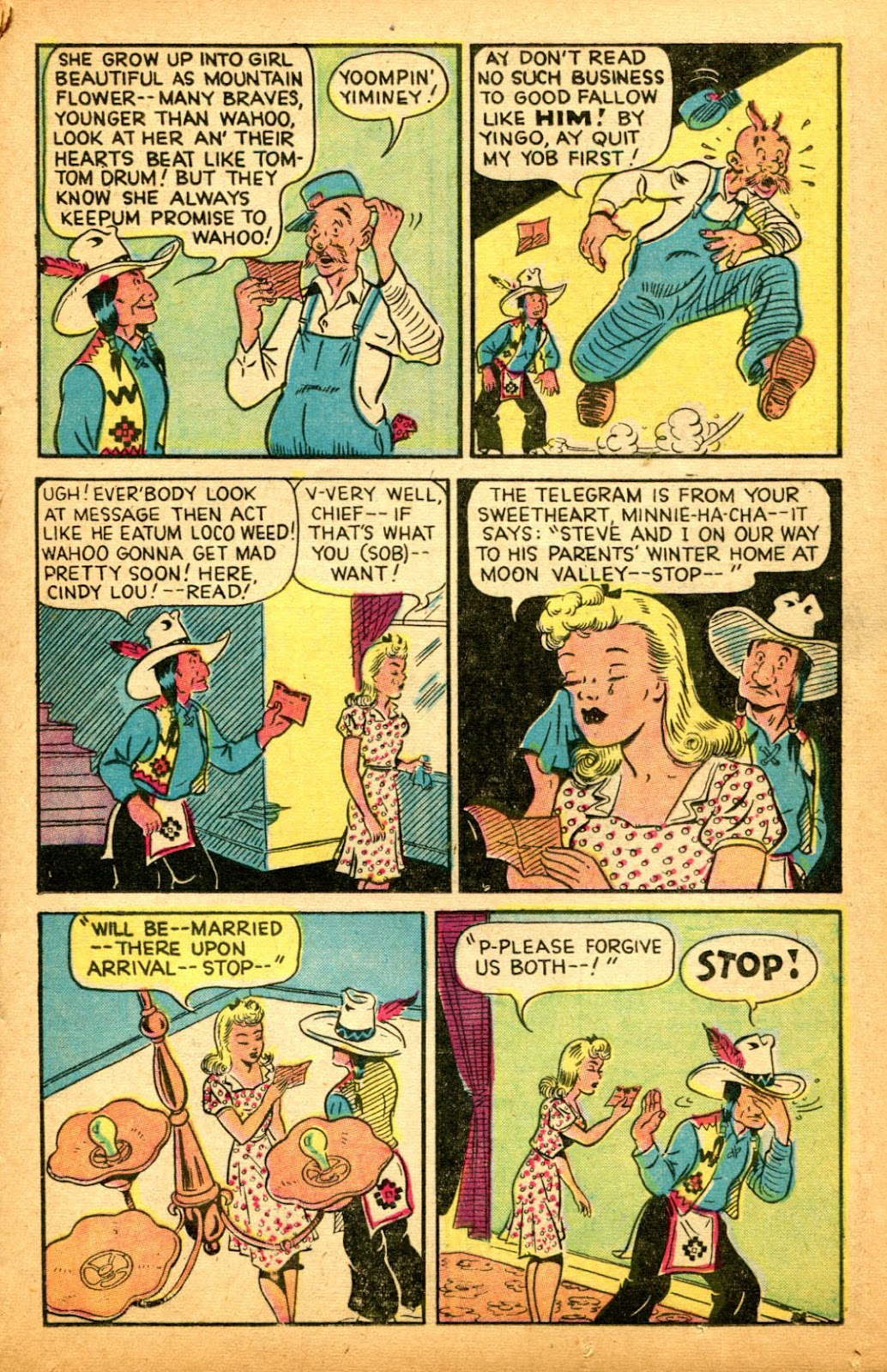 Read online Famous Funnies comic -  Issue #151 - 19