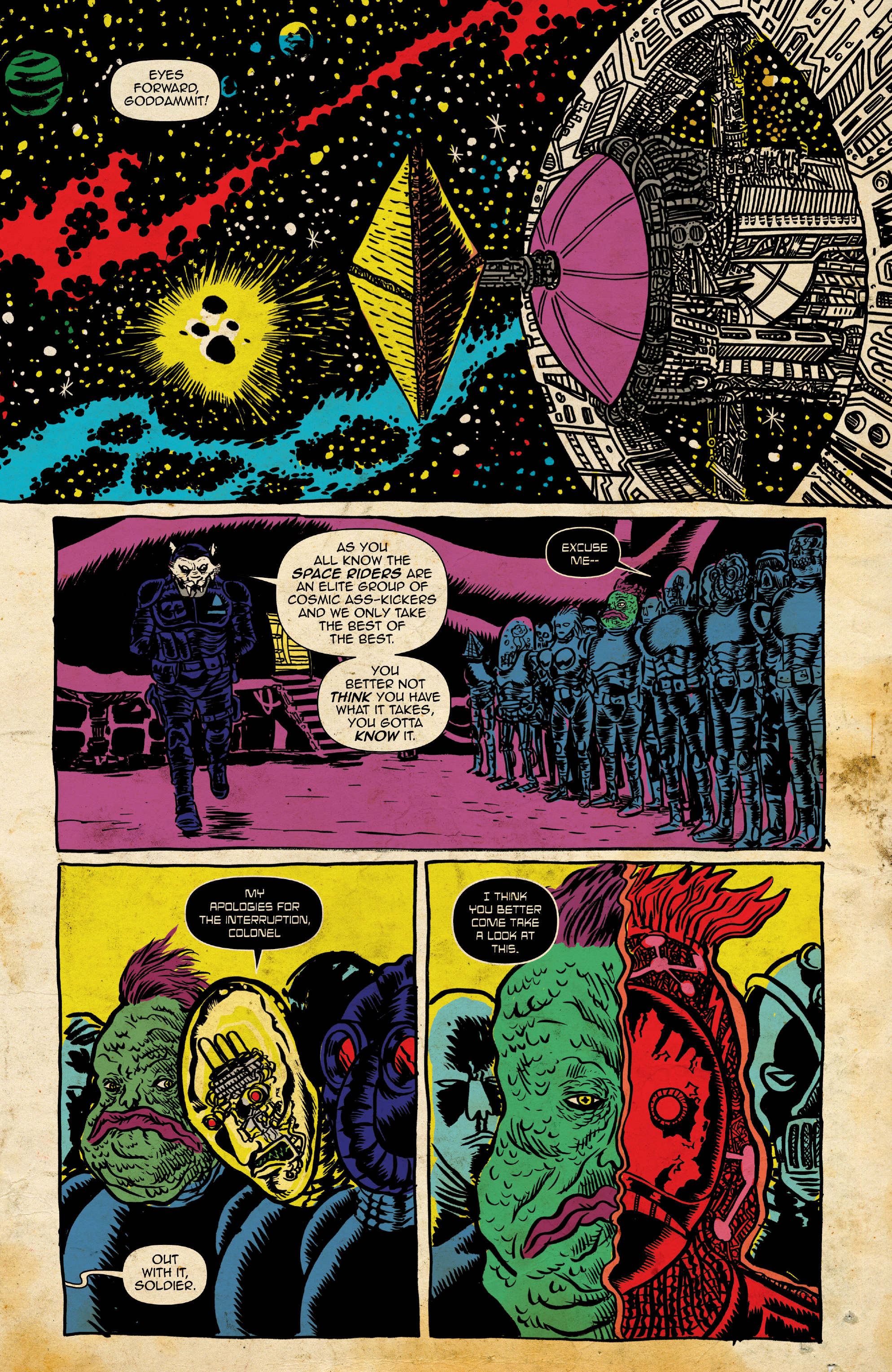 Read online Space Riders: Galaxy of Brutality comic -  Issue #2 - 5