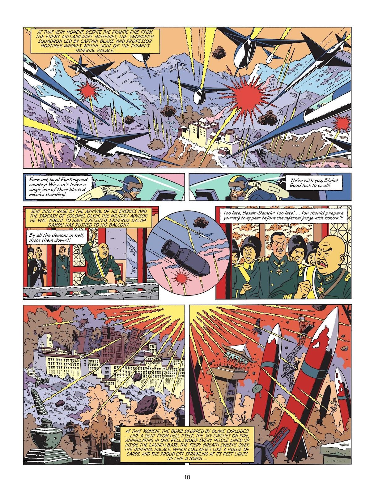 Read online Blake & Mortimer comic -  Issue #25 - 12