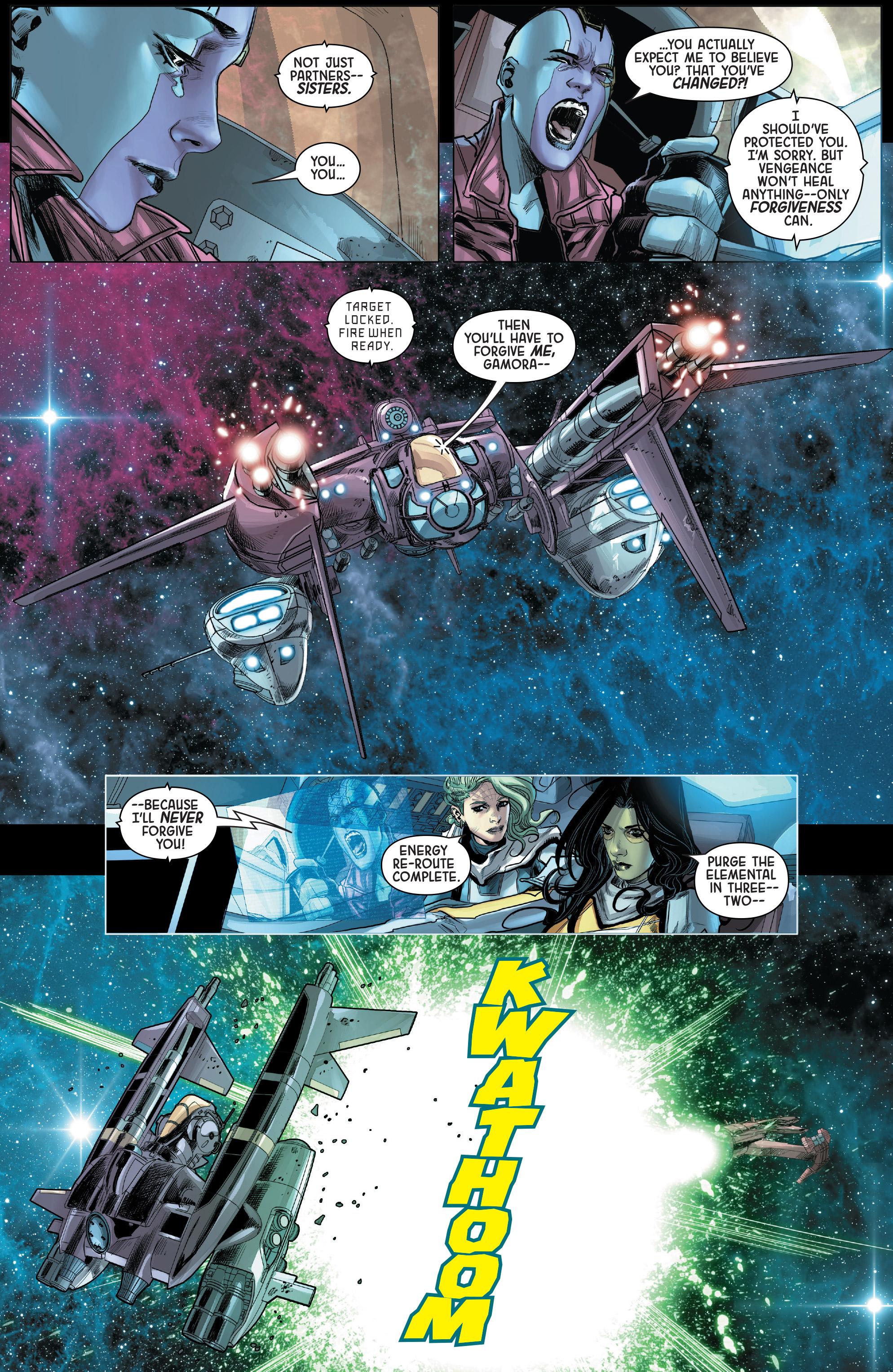 Read online Gamora comic -  Issue #5 - 19