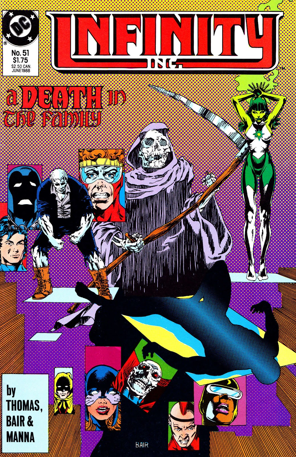 Infinity Inc. (1984) issue 51 - Page 1