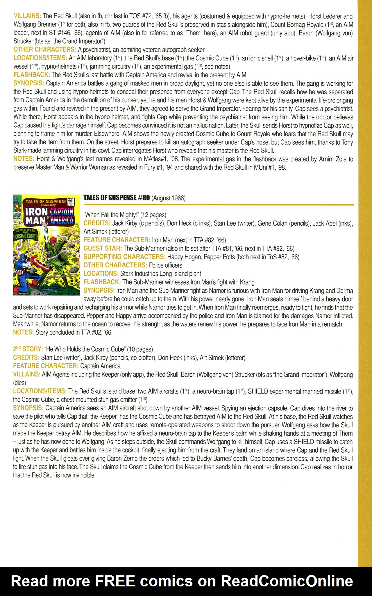 Read online Official Index to the Marvel Universe comic -  Issue #2 - 27