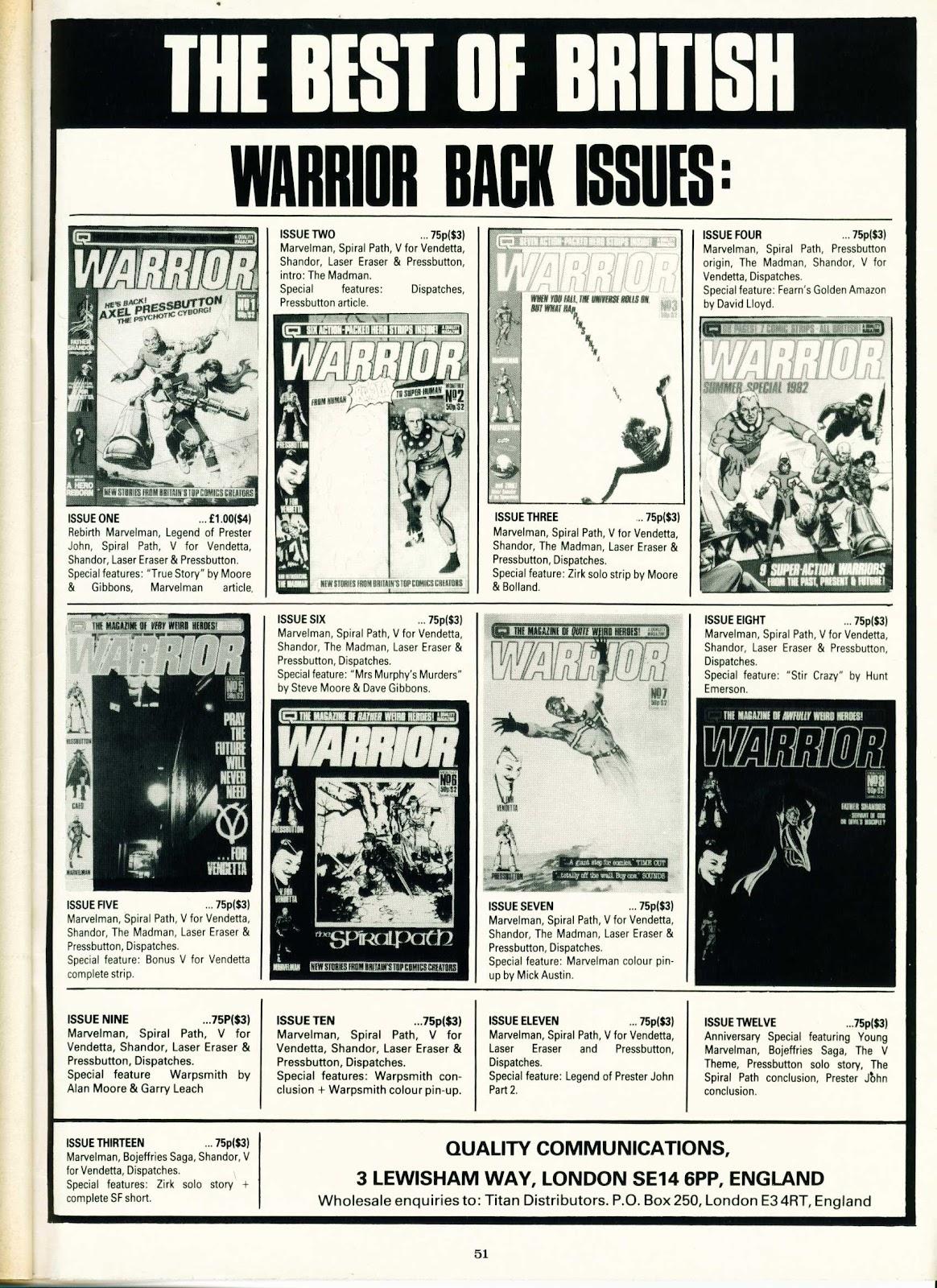 Warrior Issue #15 #16 - English 51