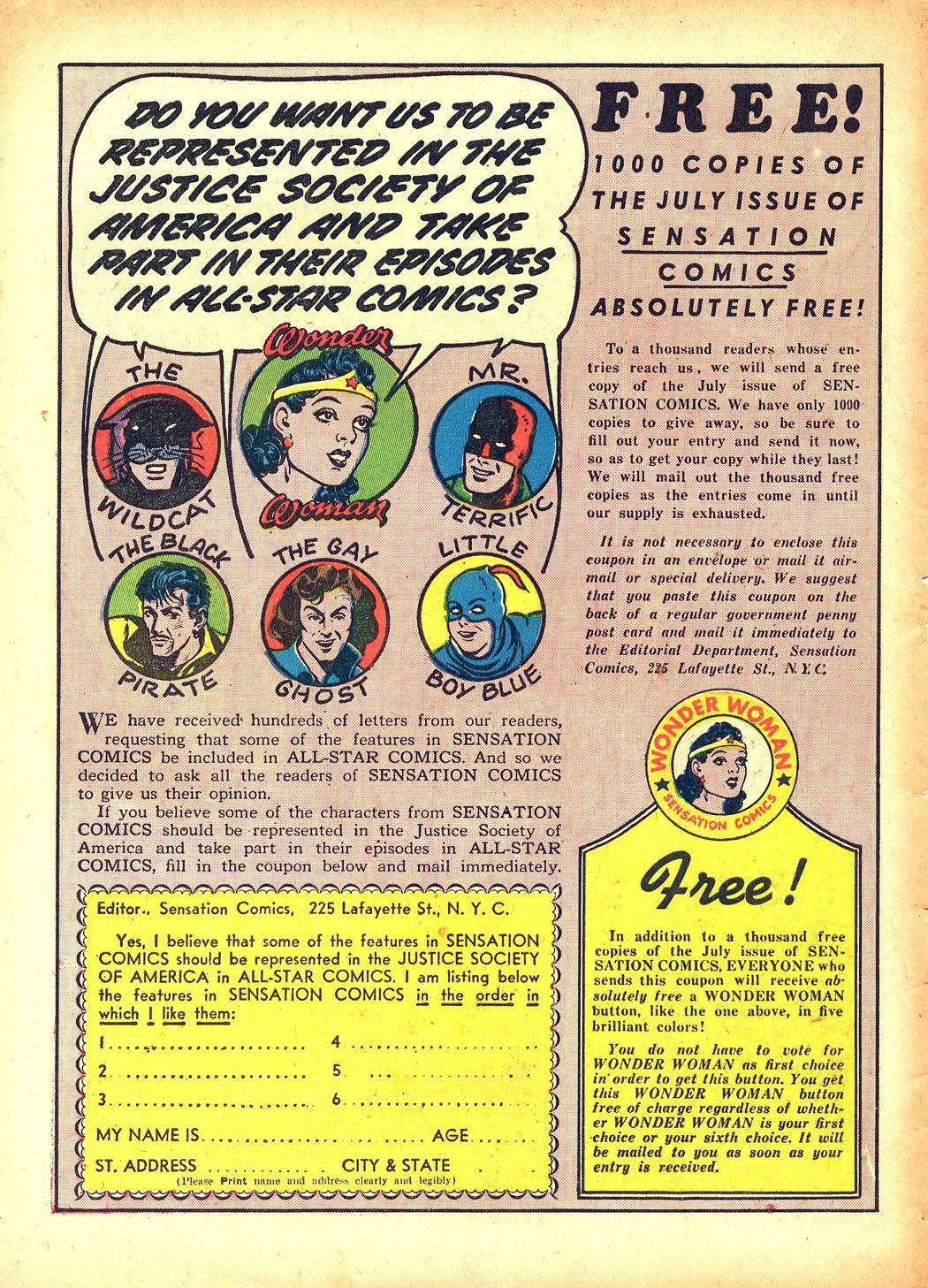 Read online Sensation (Mystery) Comics comic -  Issue #5 - 66