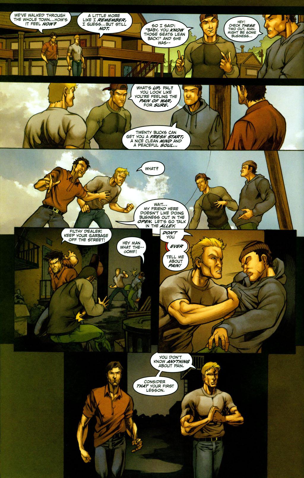 Read online Snake Eyes: Declassified comic -  Issue #2 - 12