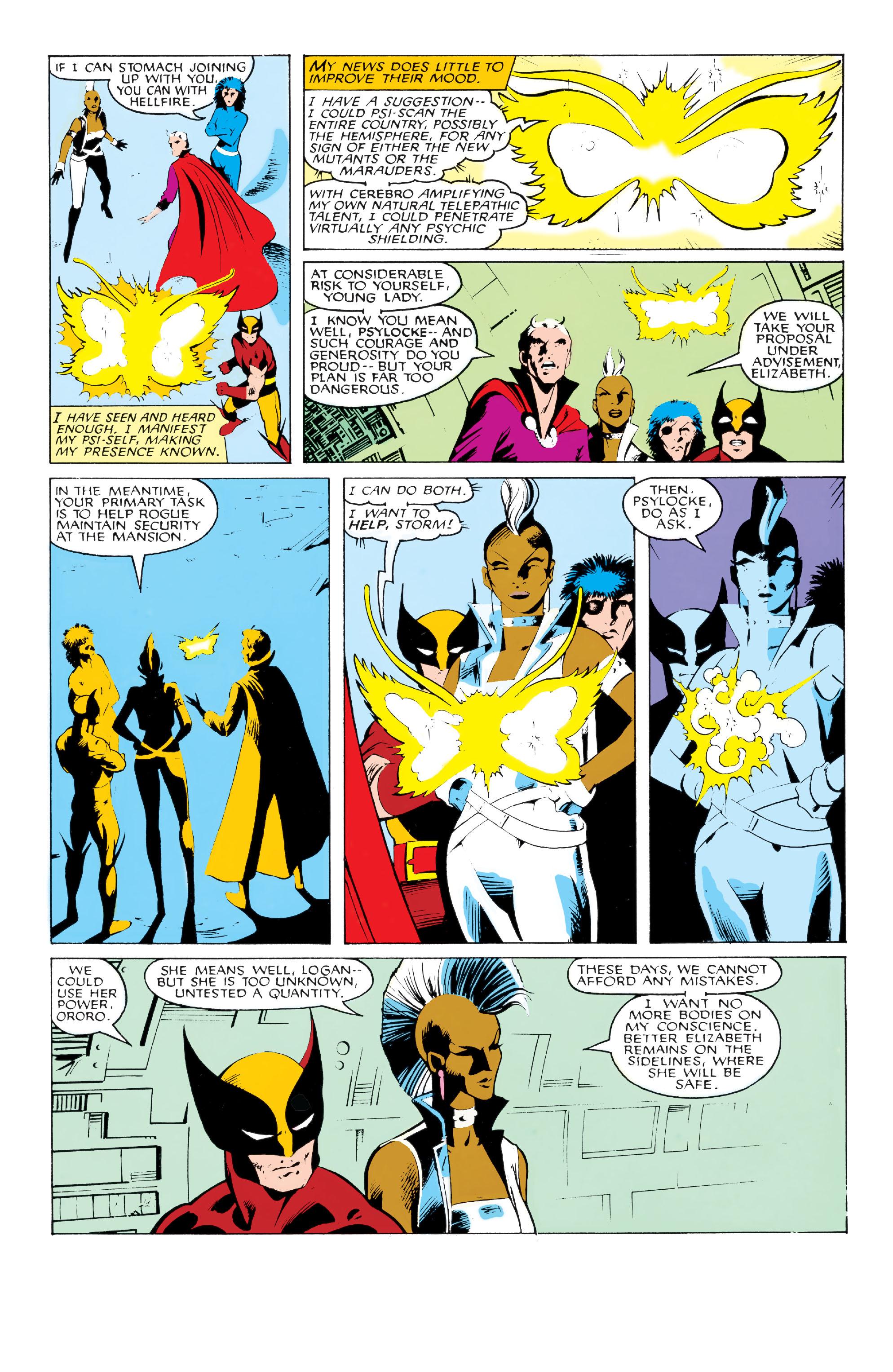 Read online Uncanny X-Men (1963) comic -  Issue #213 - 8