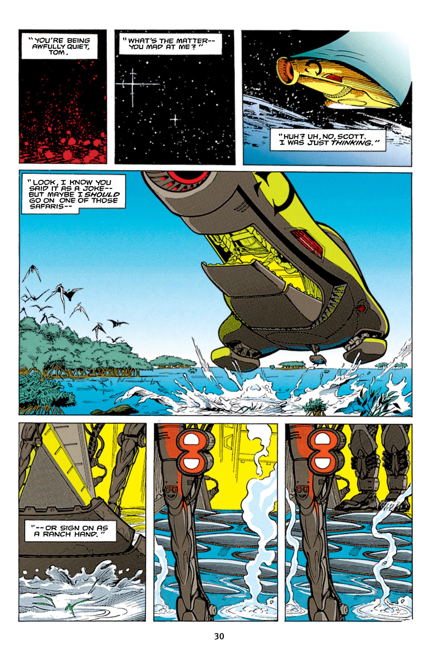 Read online Aliens vs. Predator Omnibus comic -  Issue # _TPB 1 Part 1 - 30