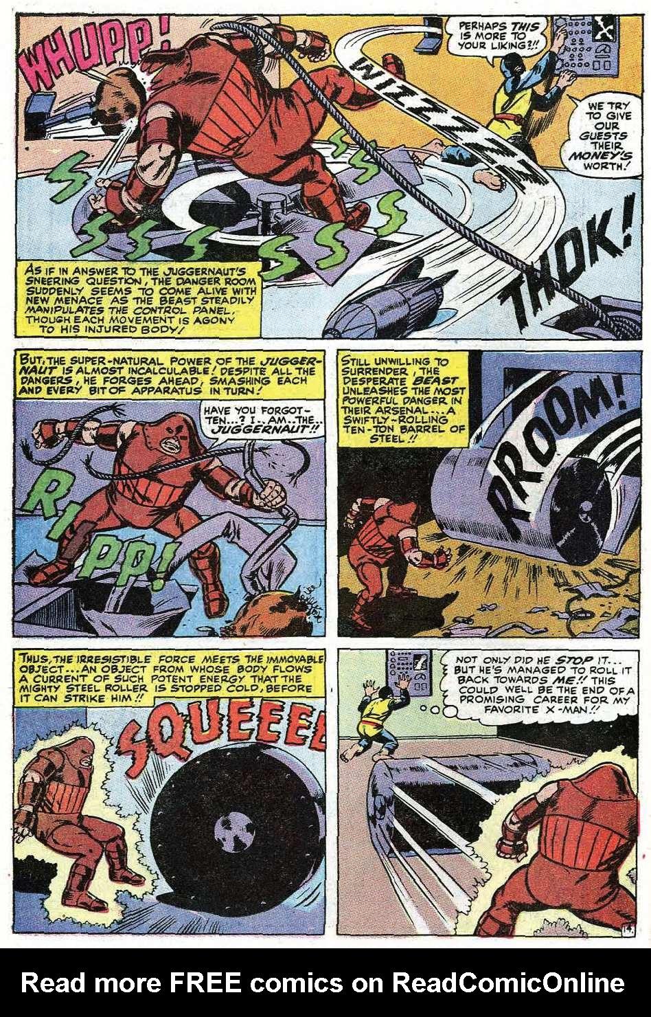 Read online Uncanny X-Men (1963) comic -  Issue #67 - 42