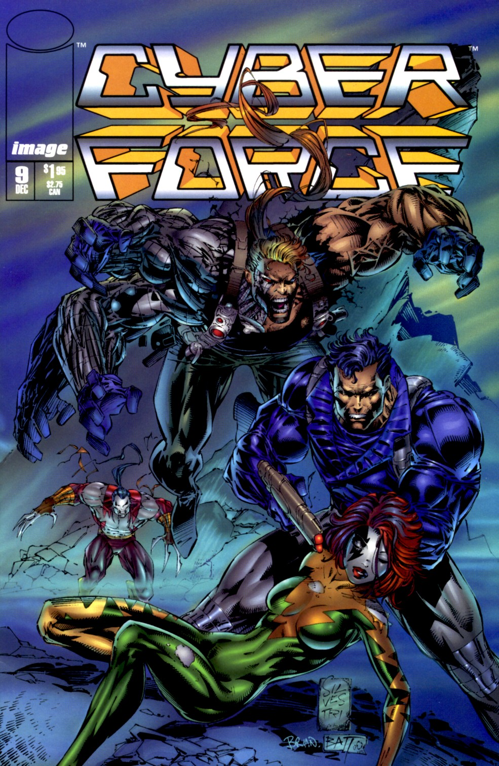 Cyberforce (1993) issue 9 - Page 1