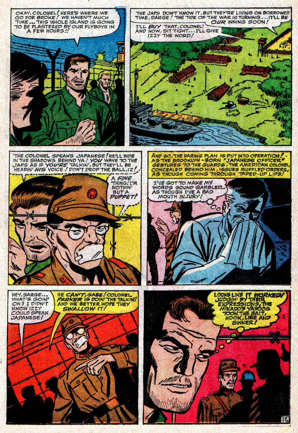 Read online Sgt. Fury comic -  Issue #10 - 23
