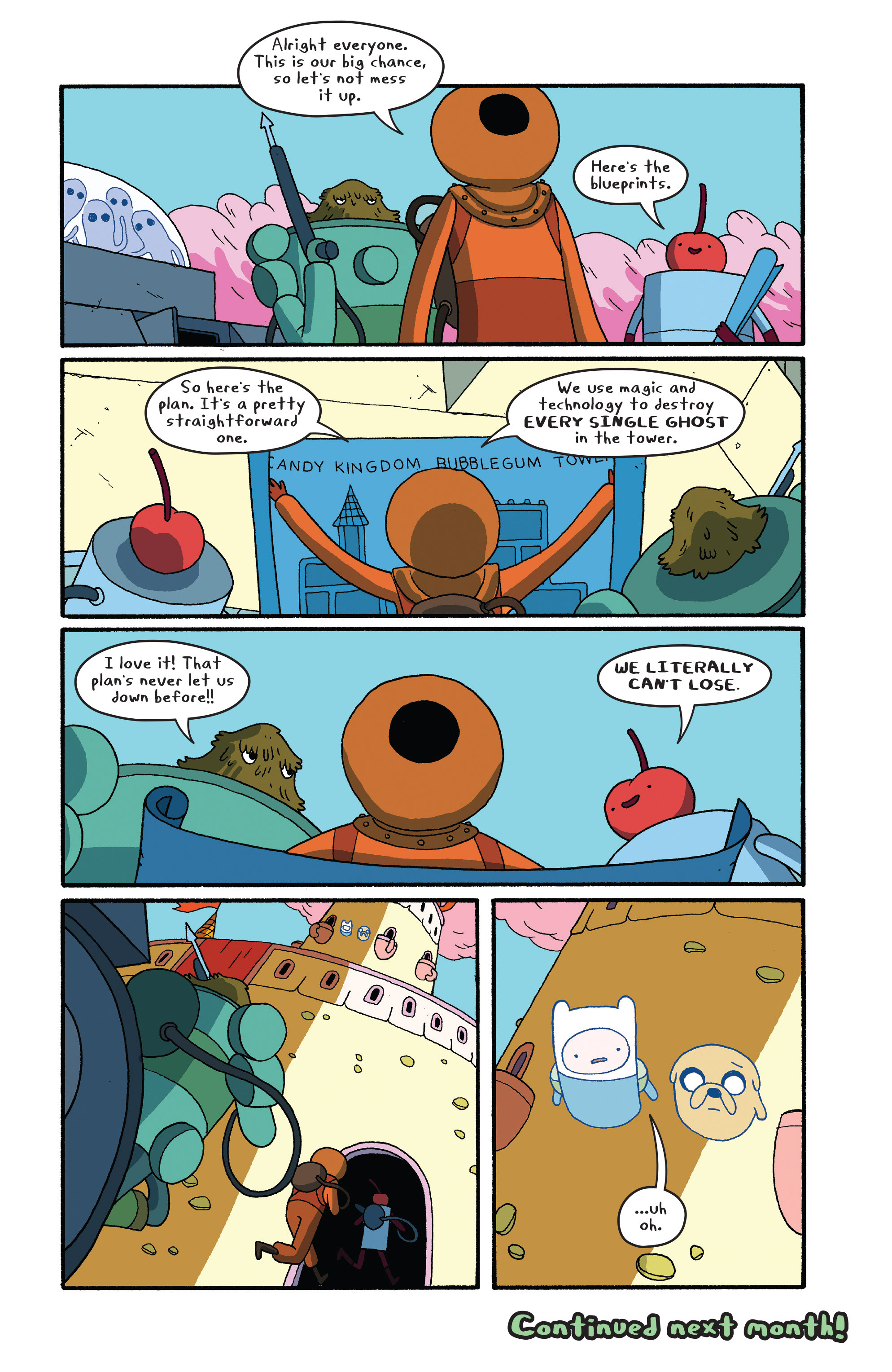 Read online Adventure Time comic -  Issue #27 - 22