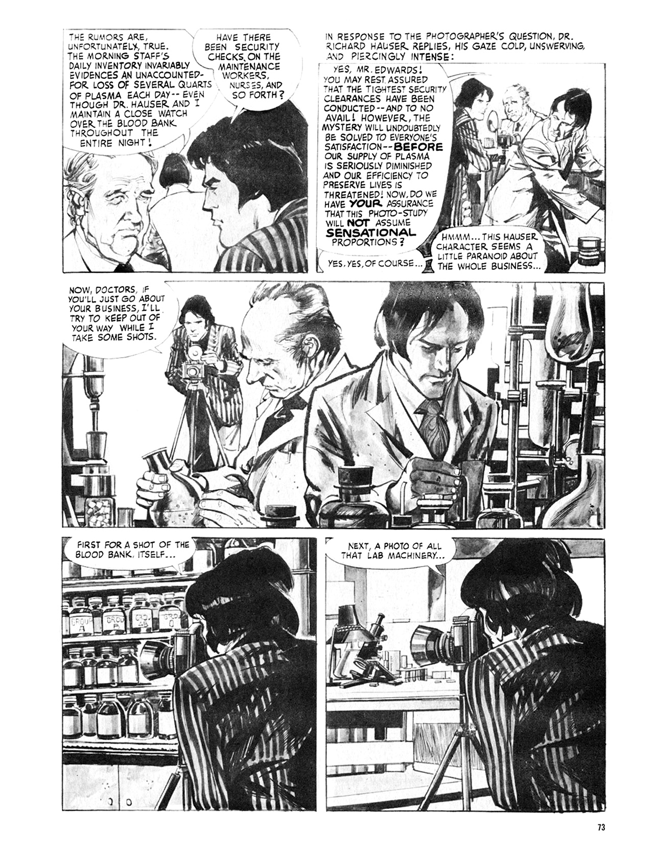 Read online Eerie Archives comic -  Issue # TPB 8 - 74