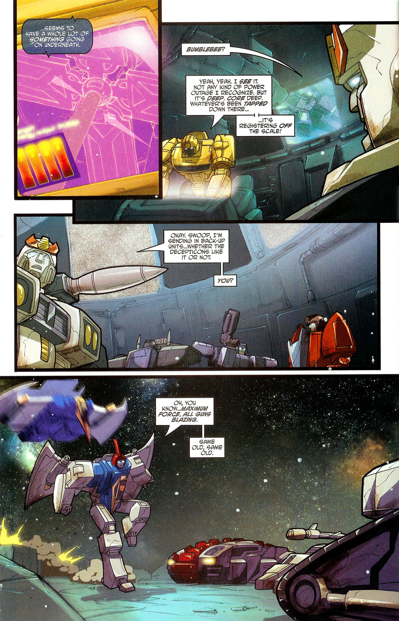 "Read online Transformers War Within: ""The Dark Ages"" comic -  Issue #6 - 8"