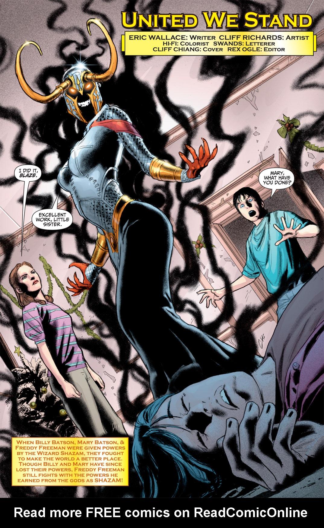 Read online Shazam! (2011) comic -  Issue #1 - 5