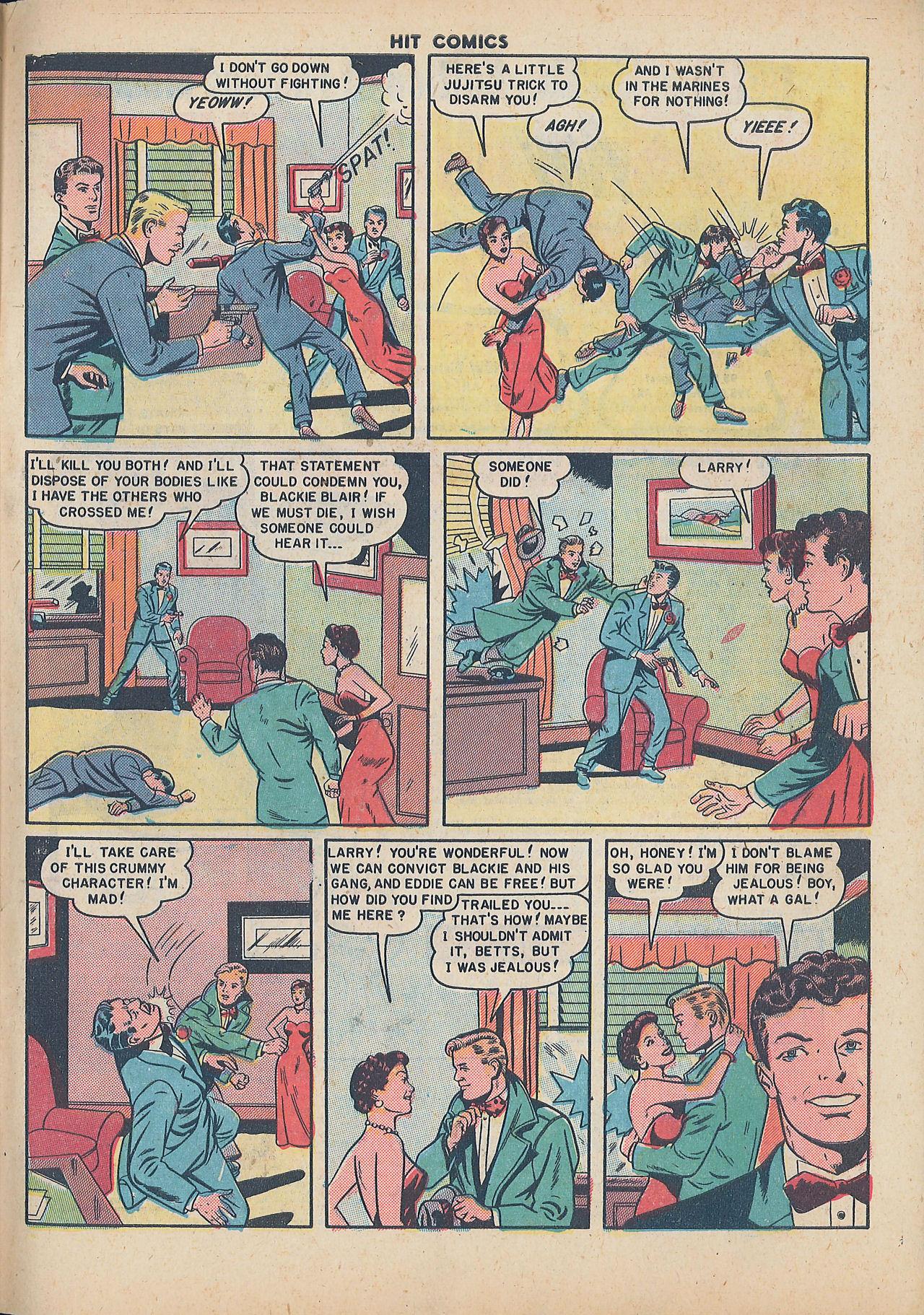 Read online Hit Comics comic -  Issue #64 - 33