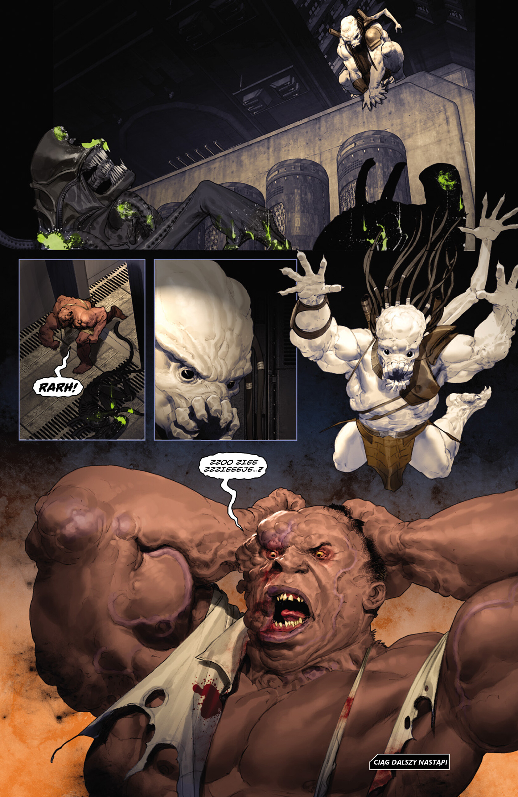 Read online Alien vs. Predator: Fire and Stone comic -  Issue #3 - 24