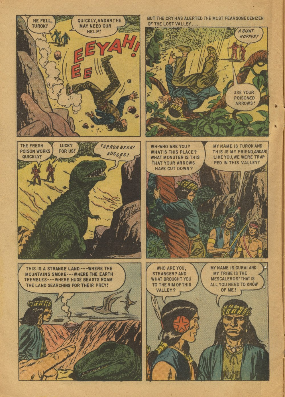 Read online Turok, Son of Stone comic -  Issue #12 - 4