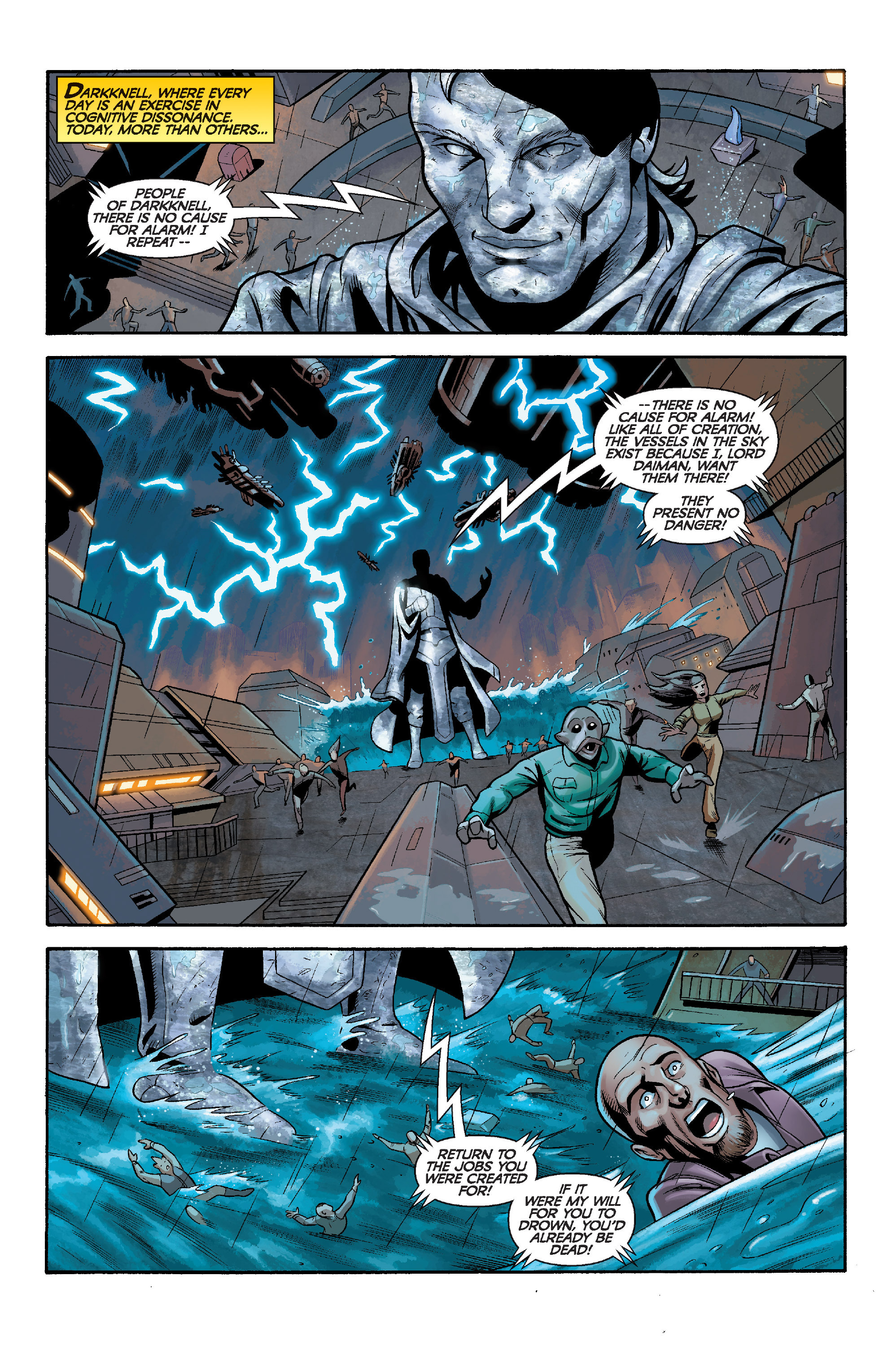 Read online Star Wars: Knight Errant - Deluge comic -  Issue #5 - 3
