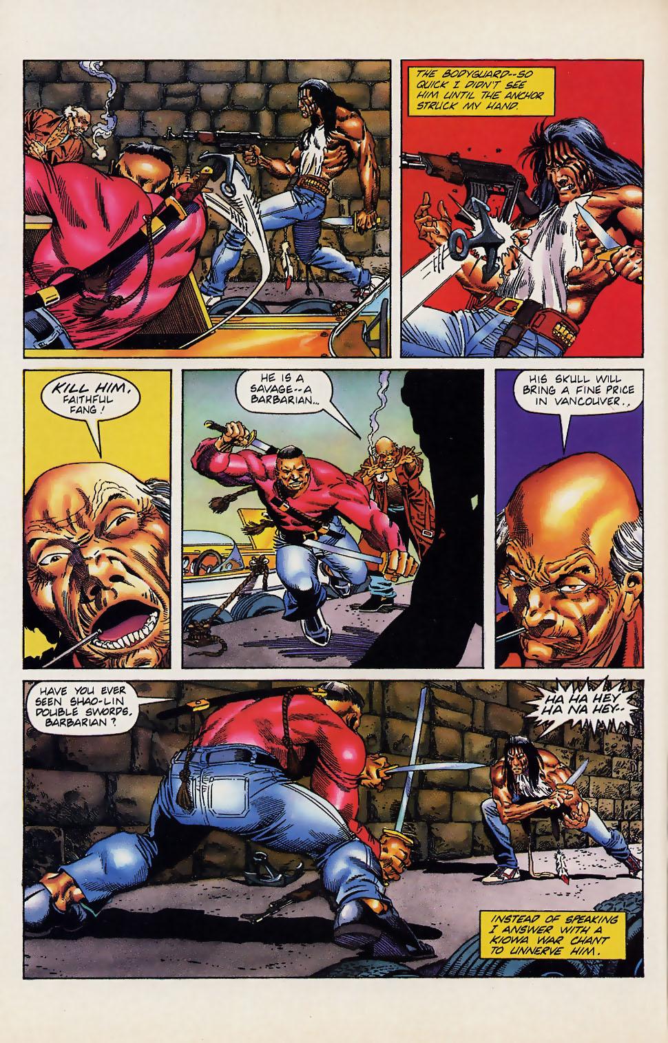 Read online Turok, Dinosaur Hunter (1993) comic -  Issue #12 - 15