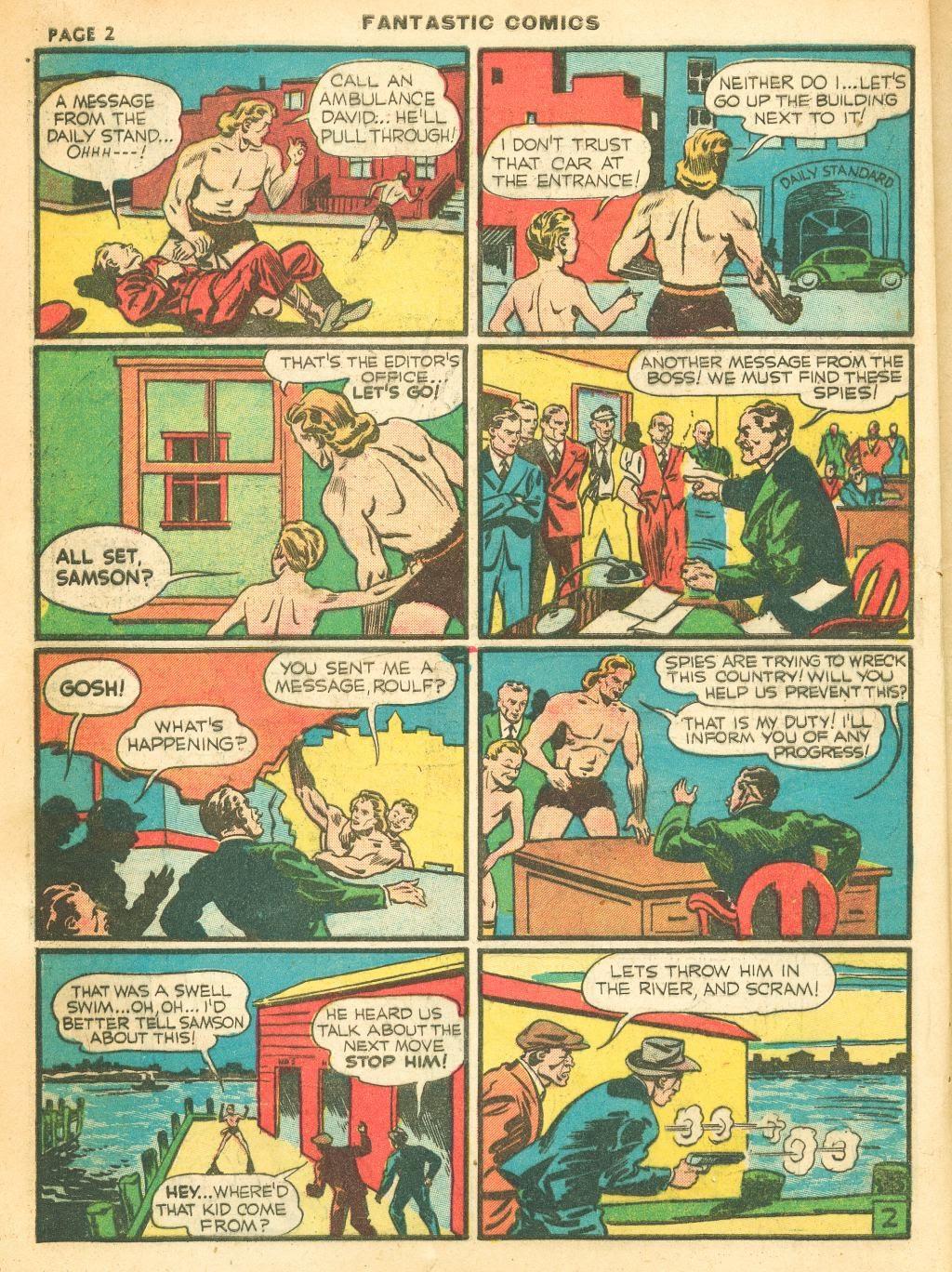 Read online Fantastic Comics comic -  Issue #12 - 4