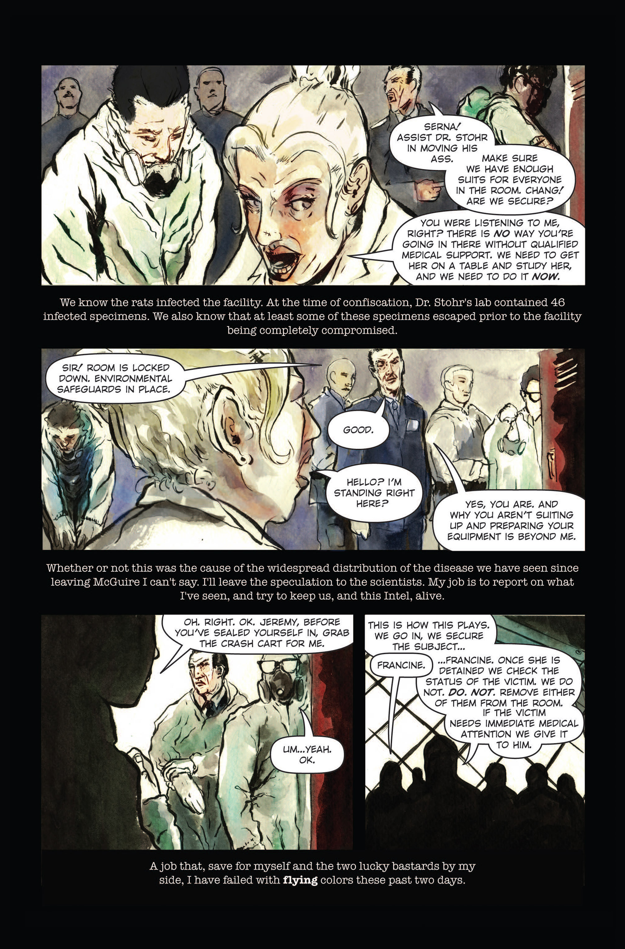 Read online The Final Plague comic -  Issue #3 - 4