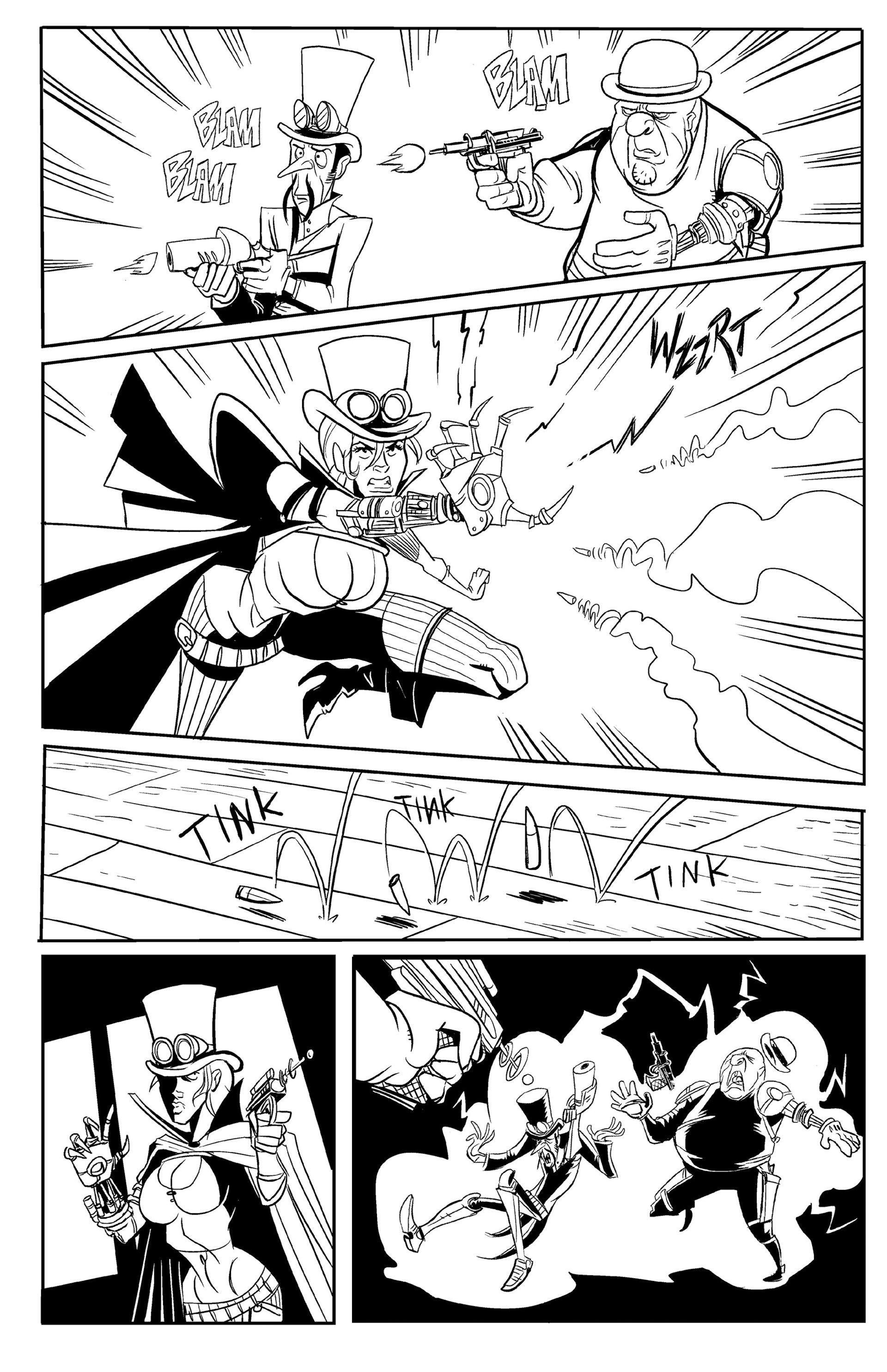 Read online Steampunk Halloween 2012 comic -  Issue # Full - 30