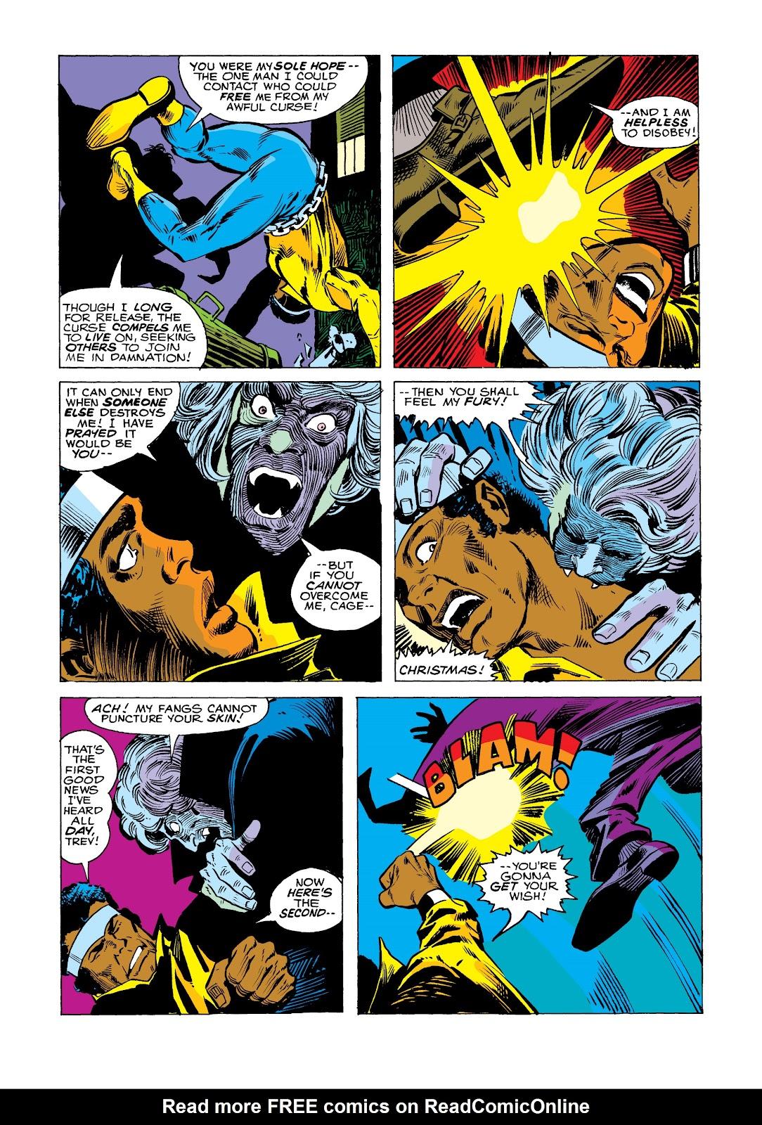 Read online Marvel Masterworks: Luke Cage, Power Man comic -  Issue # TPB 2 (Part 2) - 91