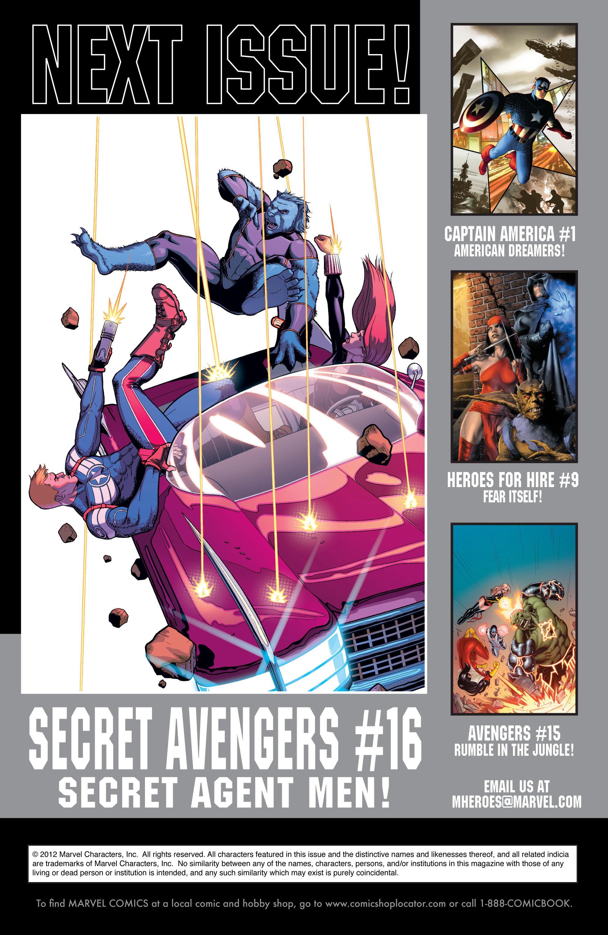 Read online Secret Avengers (2010) comic -  Issue #15 - 23