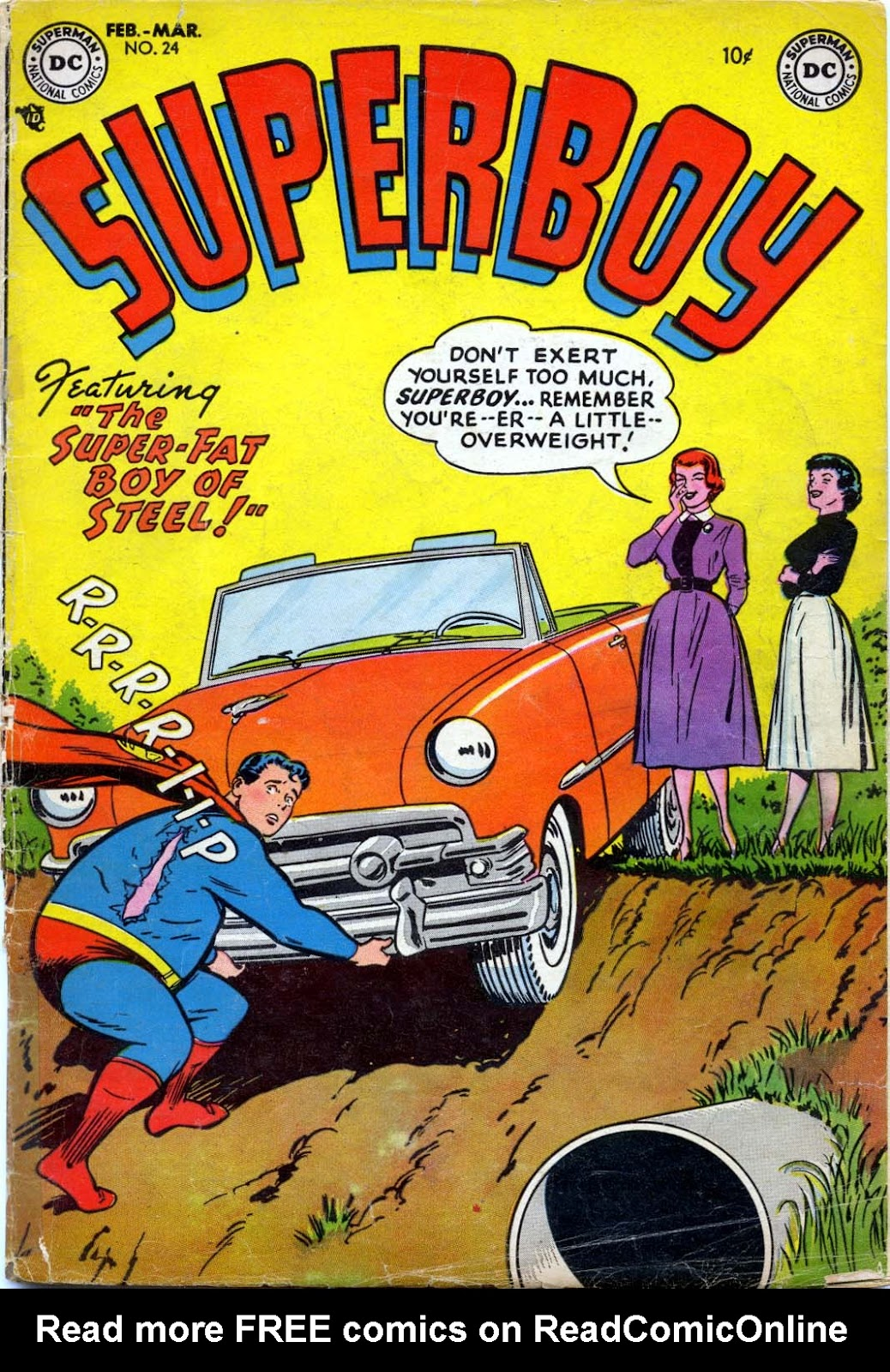 Superboy (1949) issue 24 - Page 1