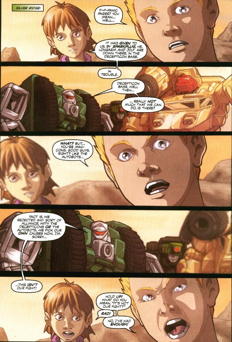 Read online Transformers Armada comic -  Issue #7 - 12